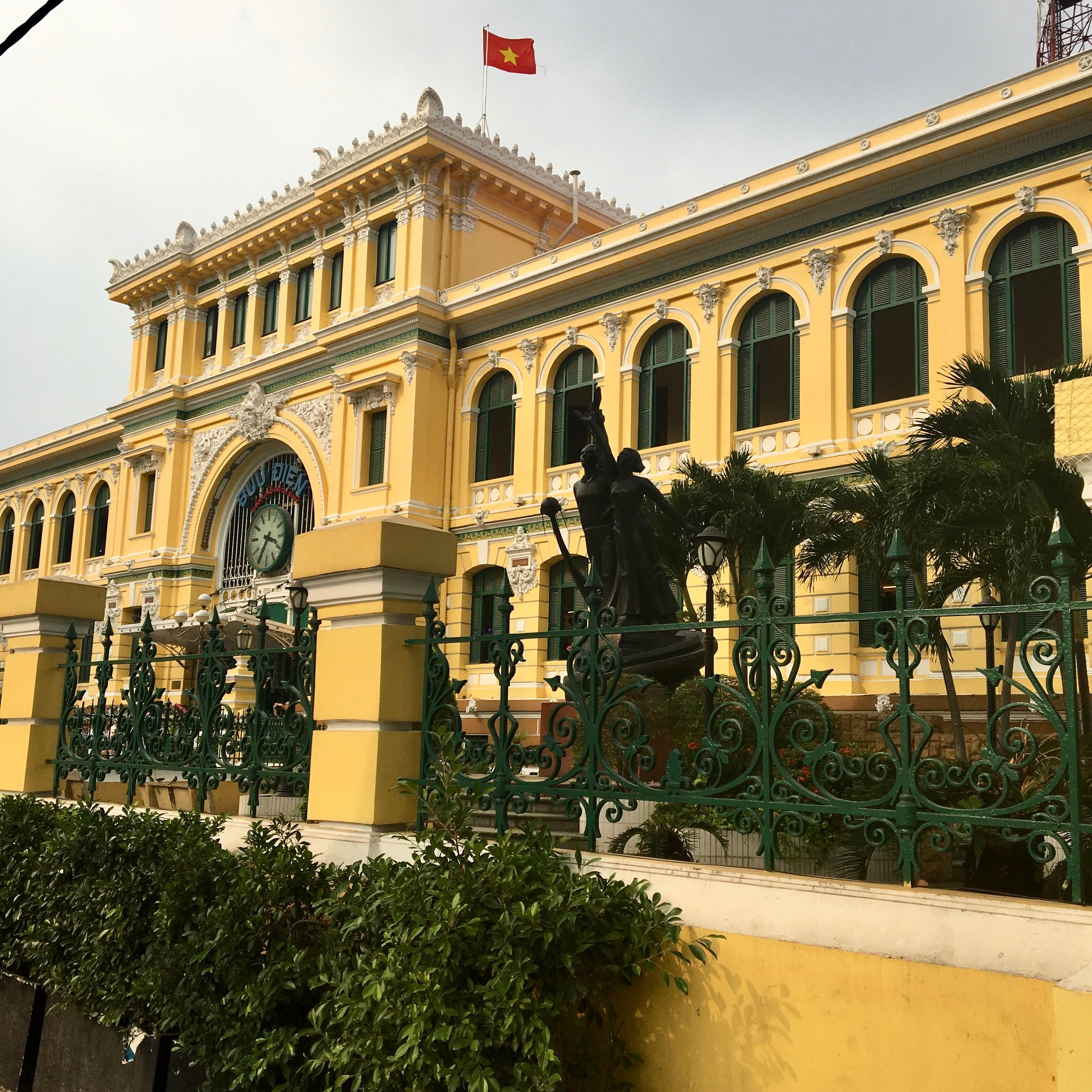 Saigon Central Post Office / Ho Chi Minh City / ©2017 Melody Jean Moulton