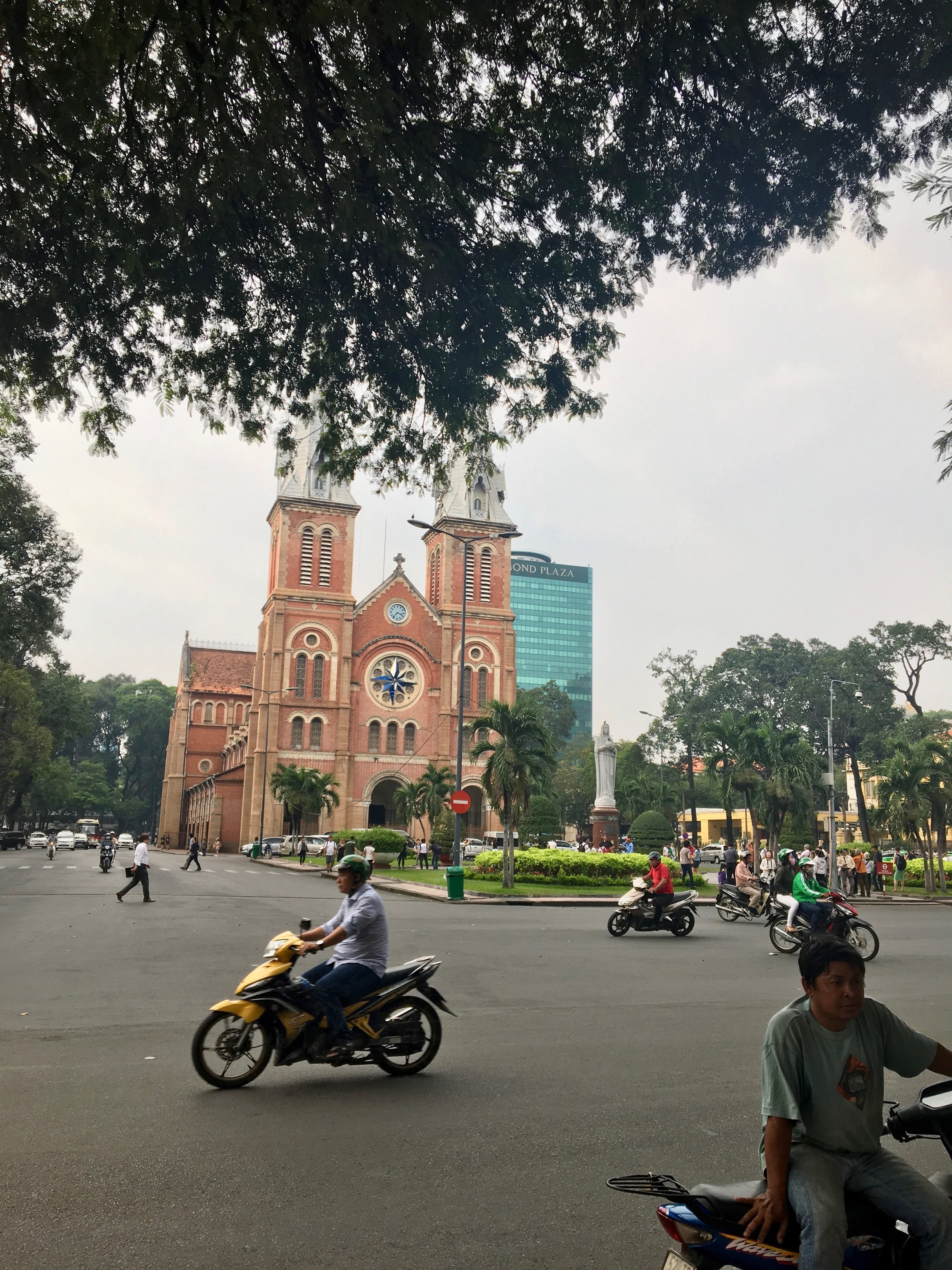 Notre-Dame Cathedral Basilica of Saigon across the street from Saigon Central Post Office / Ho Chi Minh City / ©2017 Melody Jean Moulton