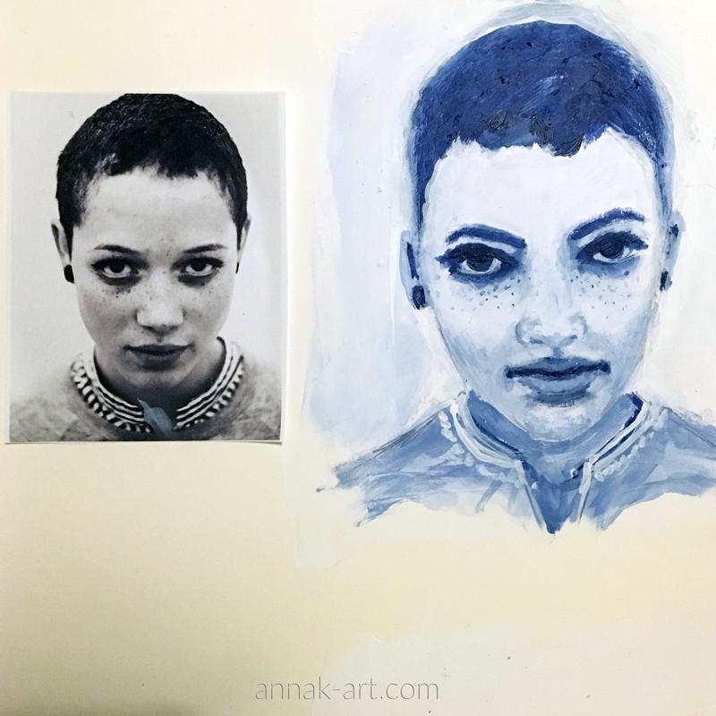 Grisaille Study #2
