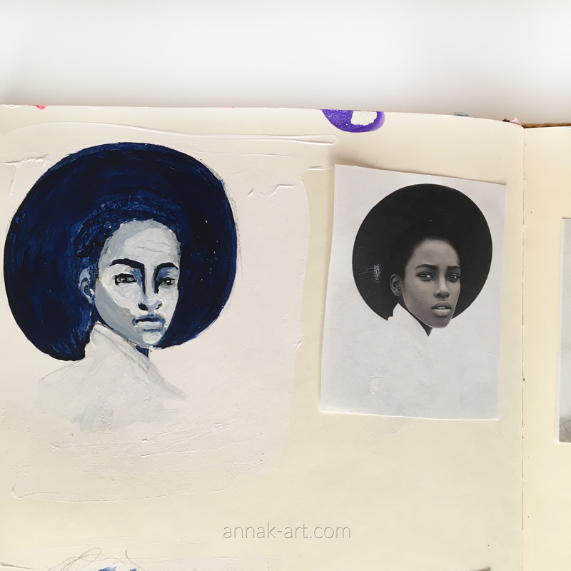 Grisaille Study #4