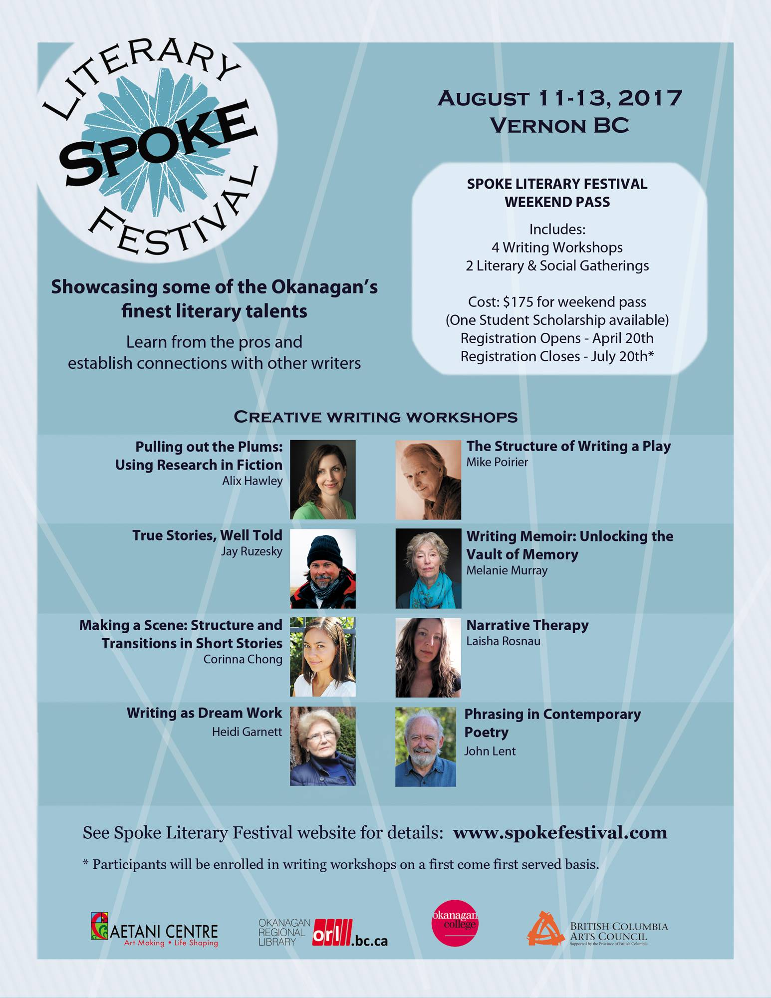 Spoke Literary Festival 2017
