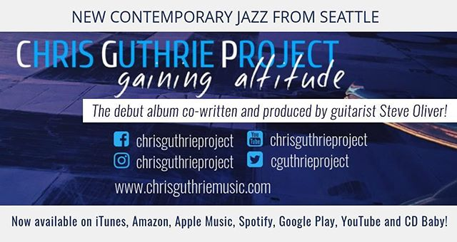 Gaining Altitude, the debut album from the Chris Guthrie Project has received favorable reviews from blog sites and others in the industry. We've collected some of the best and published them on the official website at www.chrisguthriemusic.com . . . . #smoothjazz #jazzpiano #jazzlovers #chrisguthrieproject #piano #jazz #gainingaltitude #steveoliver
