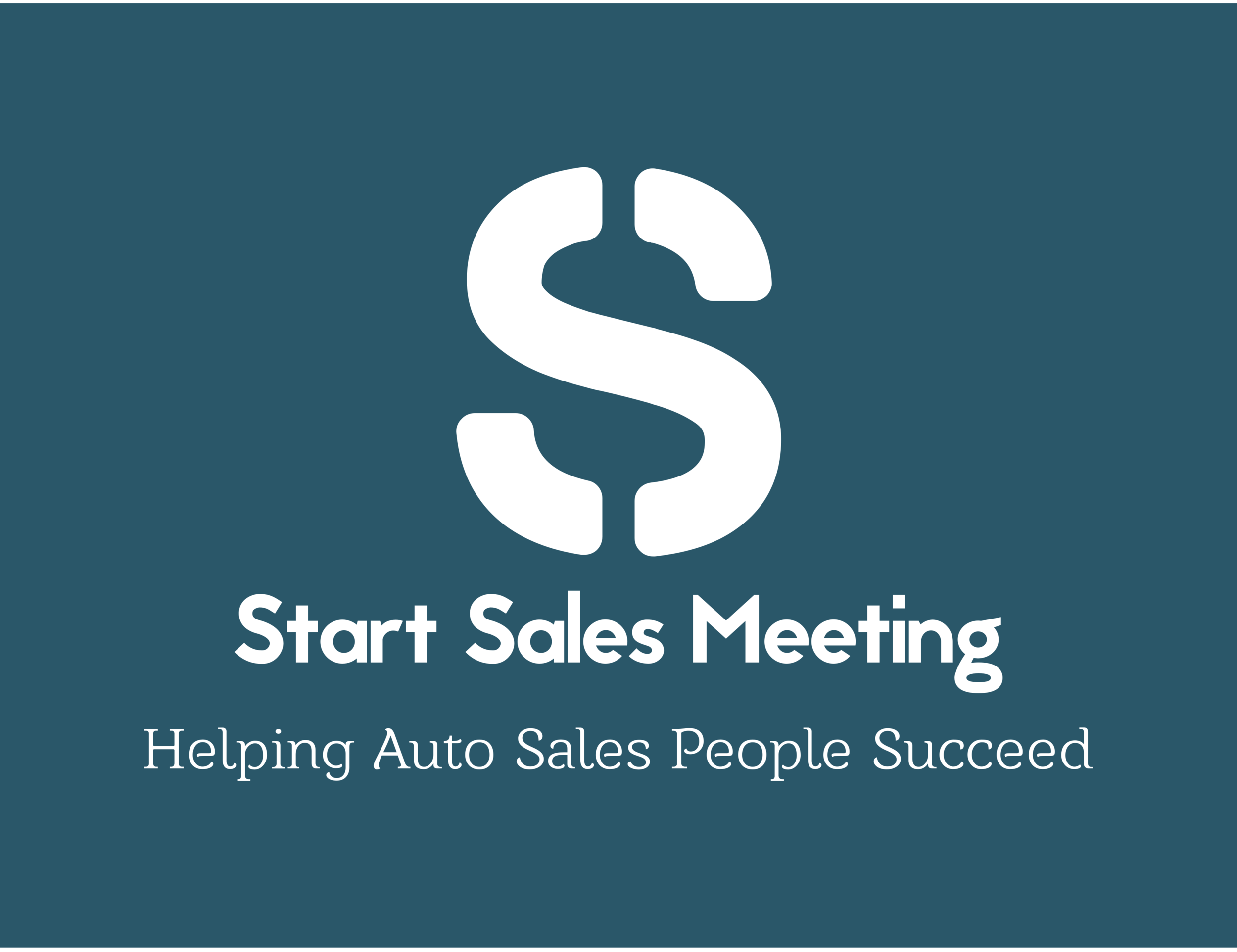 Start Sales Meeting Logo