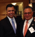 Left to Right: Gary Acosta, NAHREP Co-Founder and CEO and chester Ruiz, PRMG Vice President of Multicultural Development.