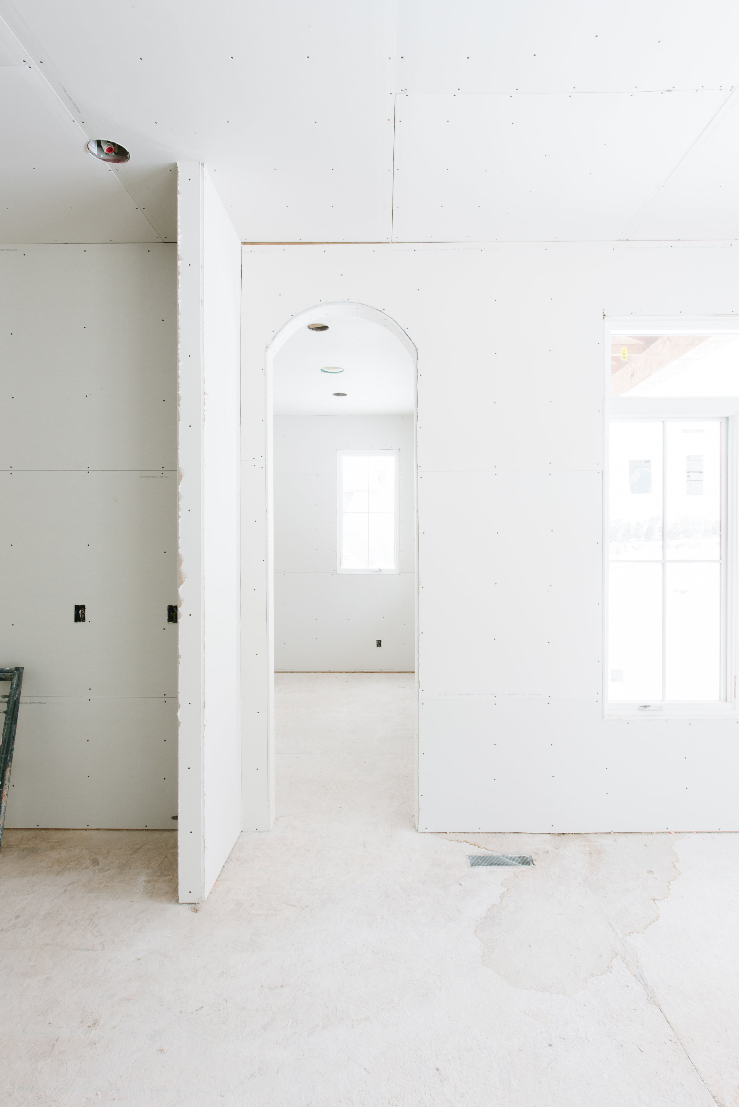 LOOKING TOWARDS KIDS' HOMEWORK / CRAFT ROOM