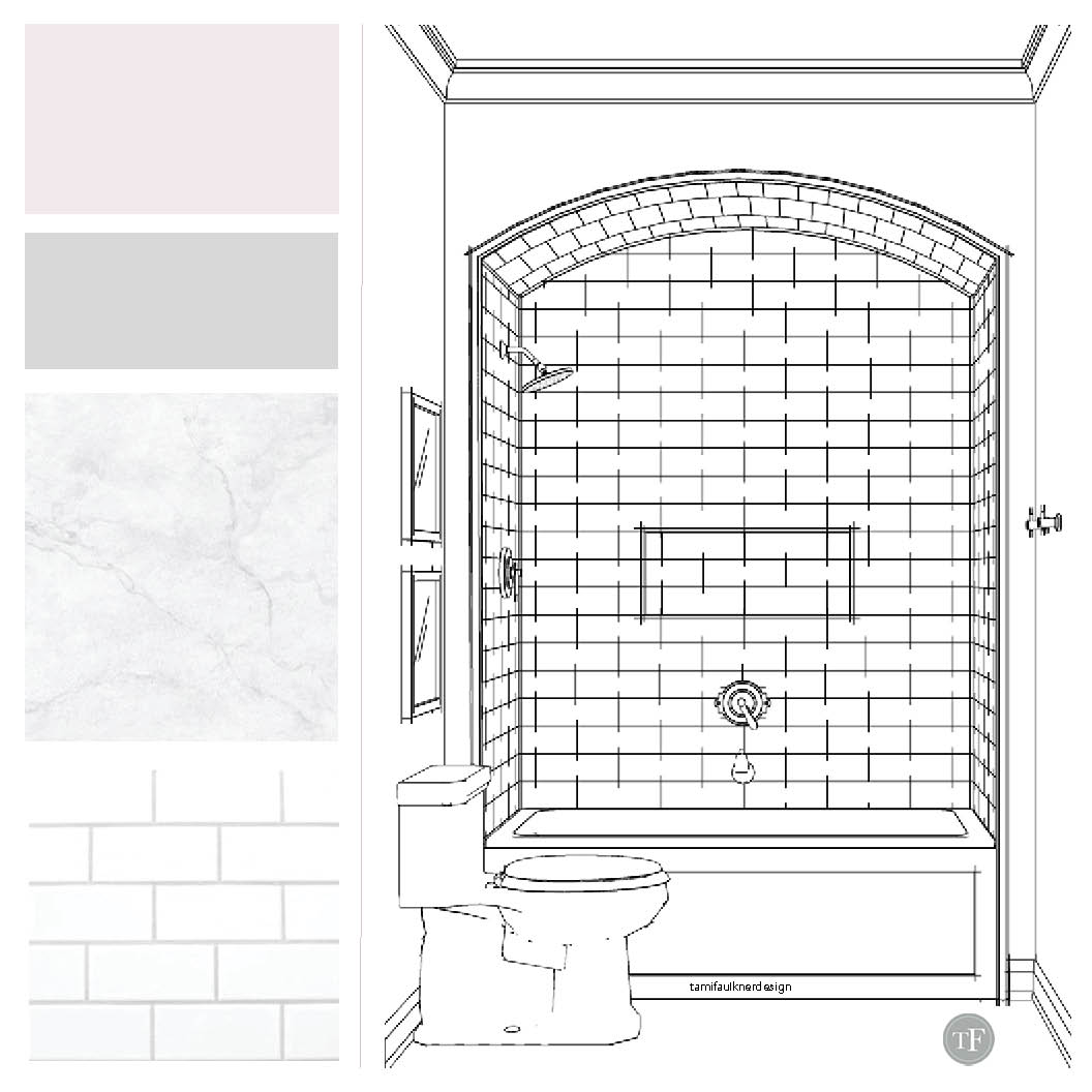 Tami Faulkner Design, Bathroom Design, Sacramento CA