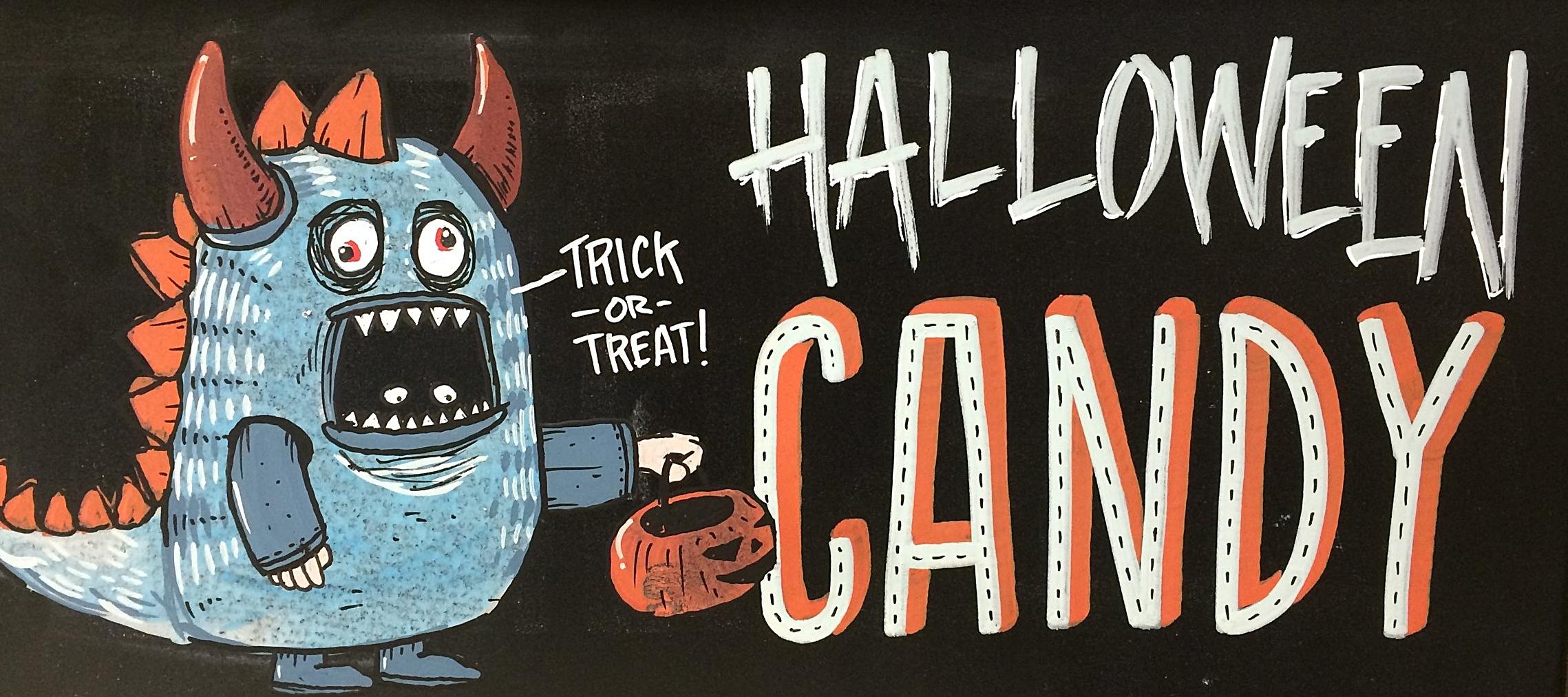 halloween candy chalk.JPG