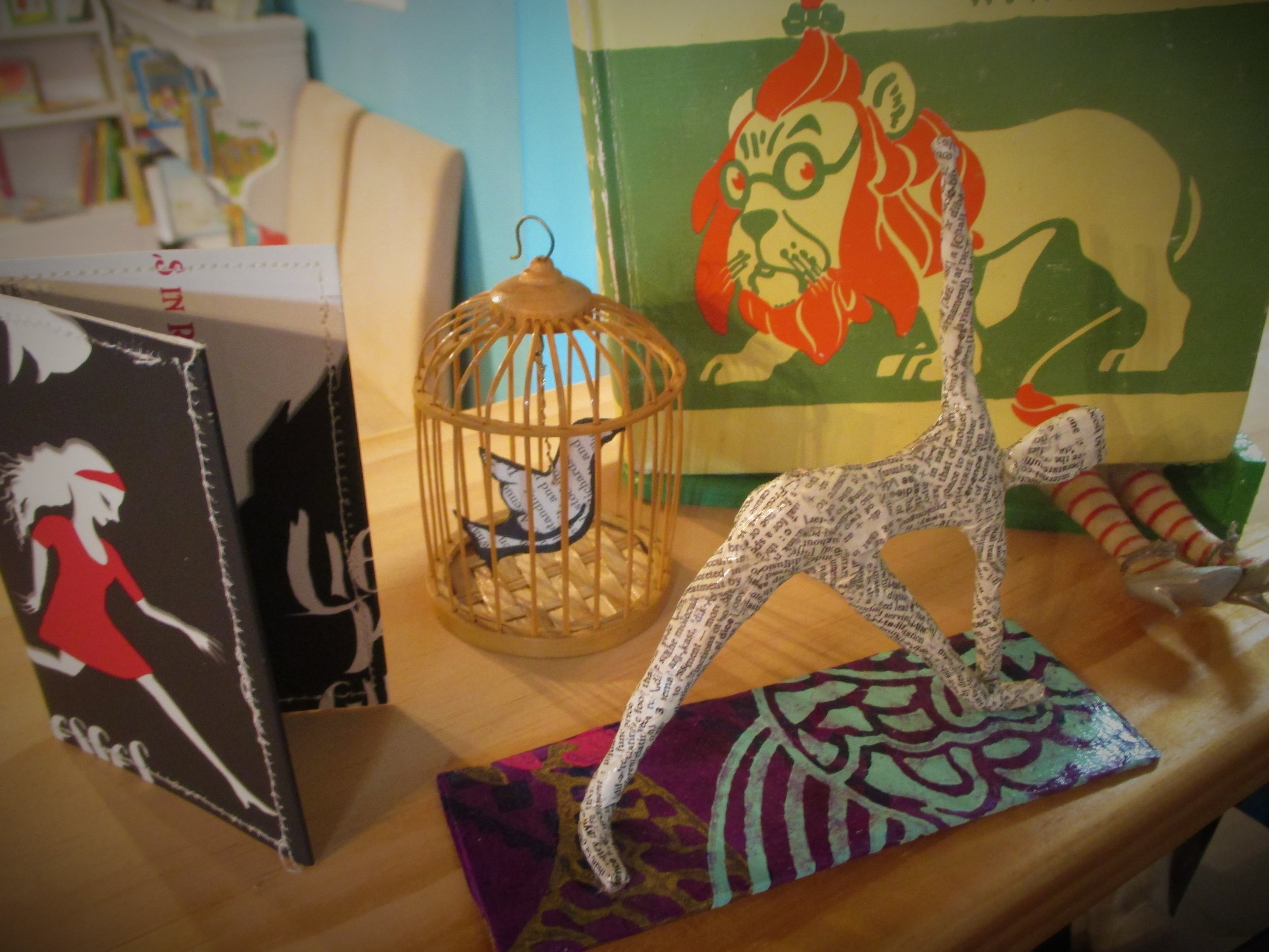 Odds n Ends - Book art, ornaments, and walletsGreeting CardsPuzzles and GamesJewelryRefreshments