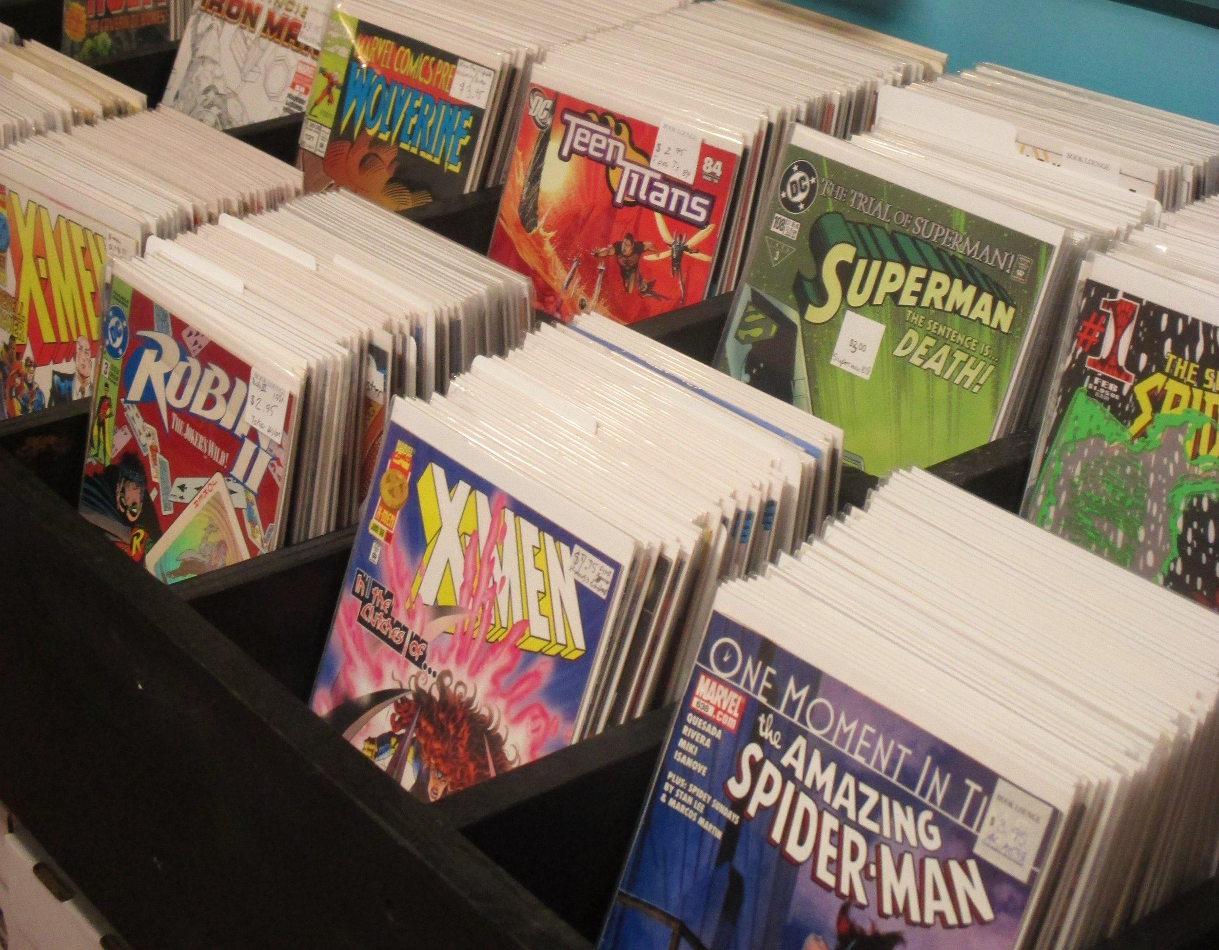 Comics - All comics are individually priced