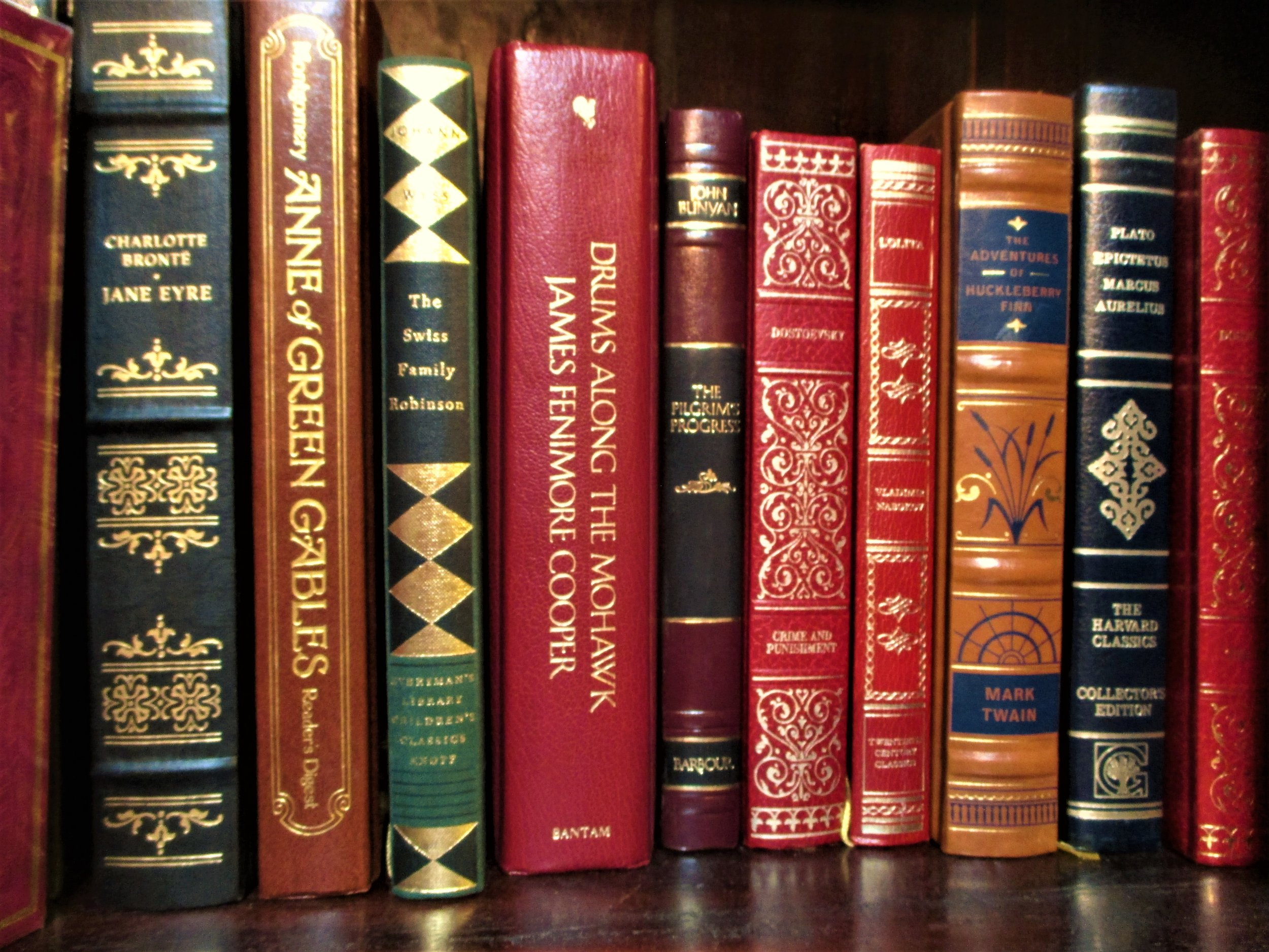 Deluxe Editions - We're not an antiquarian shop, but we do carry some special editions, early printings, and old books.These are all individually priced.