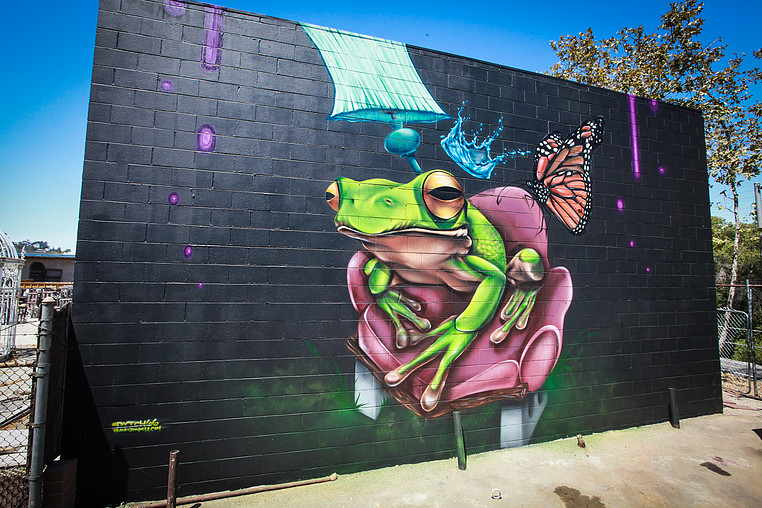 frogtown artwalk | dytch 66