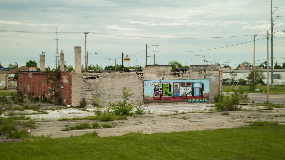 greetings from flint   indecline