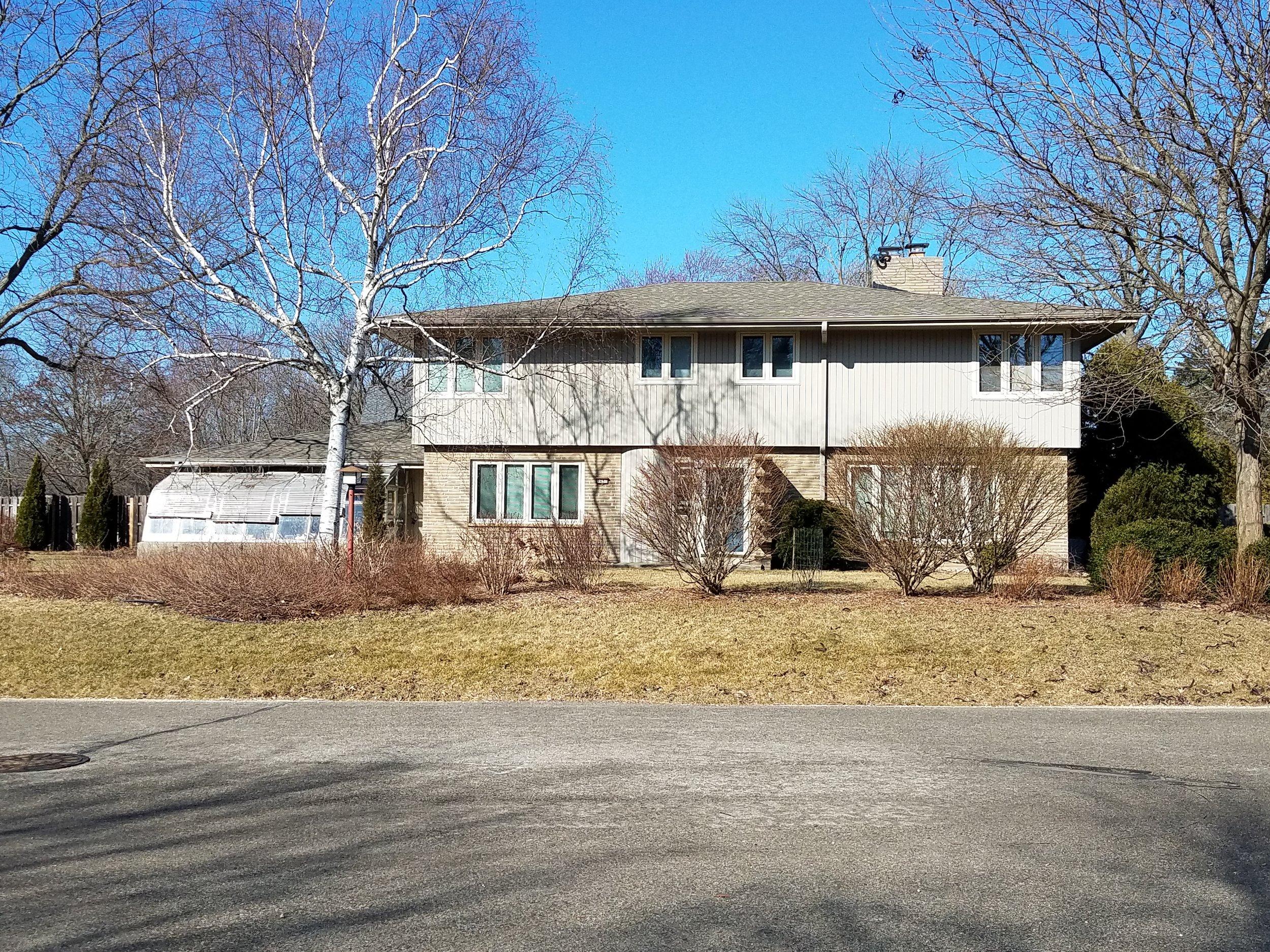 House in Wisconsin I grew up in