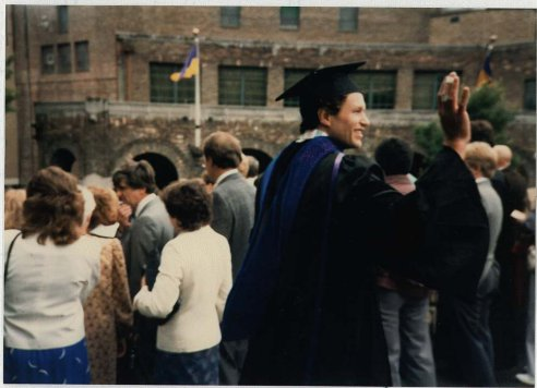 Getting my PhD degree from the UW