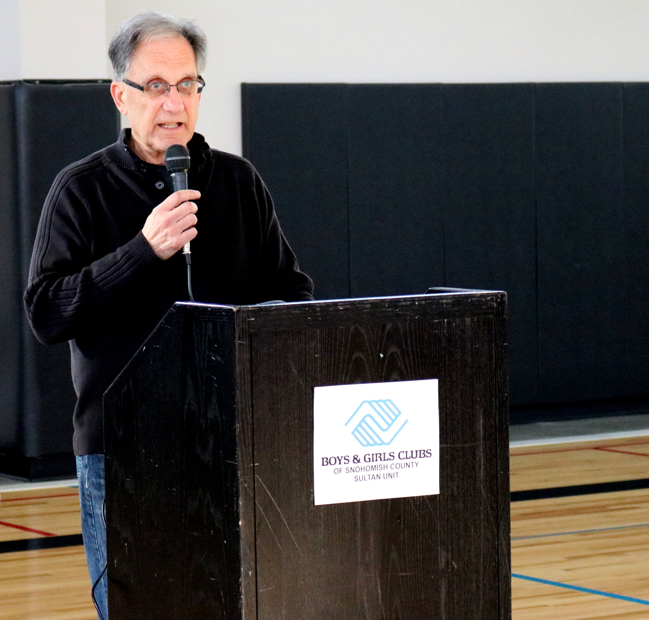 Bill Tsoukalas:  Director of the Snohomish County Boys and Girls Club