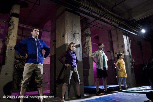 Grace, or the Art of Climbing - By Lauren Feldman * Designed by Caitlin Lainoff, Mike Inwood, Melissa Trn & Dan Perelstein * Nice People Theatre Company, 2010