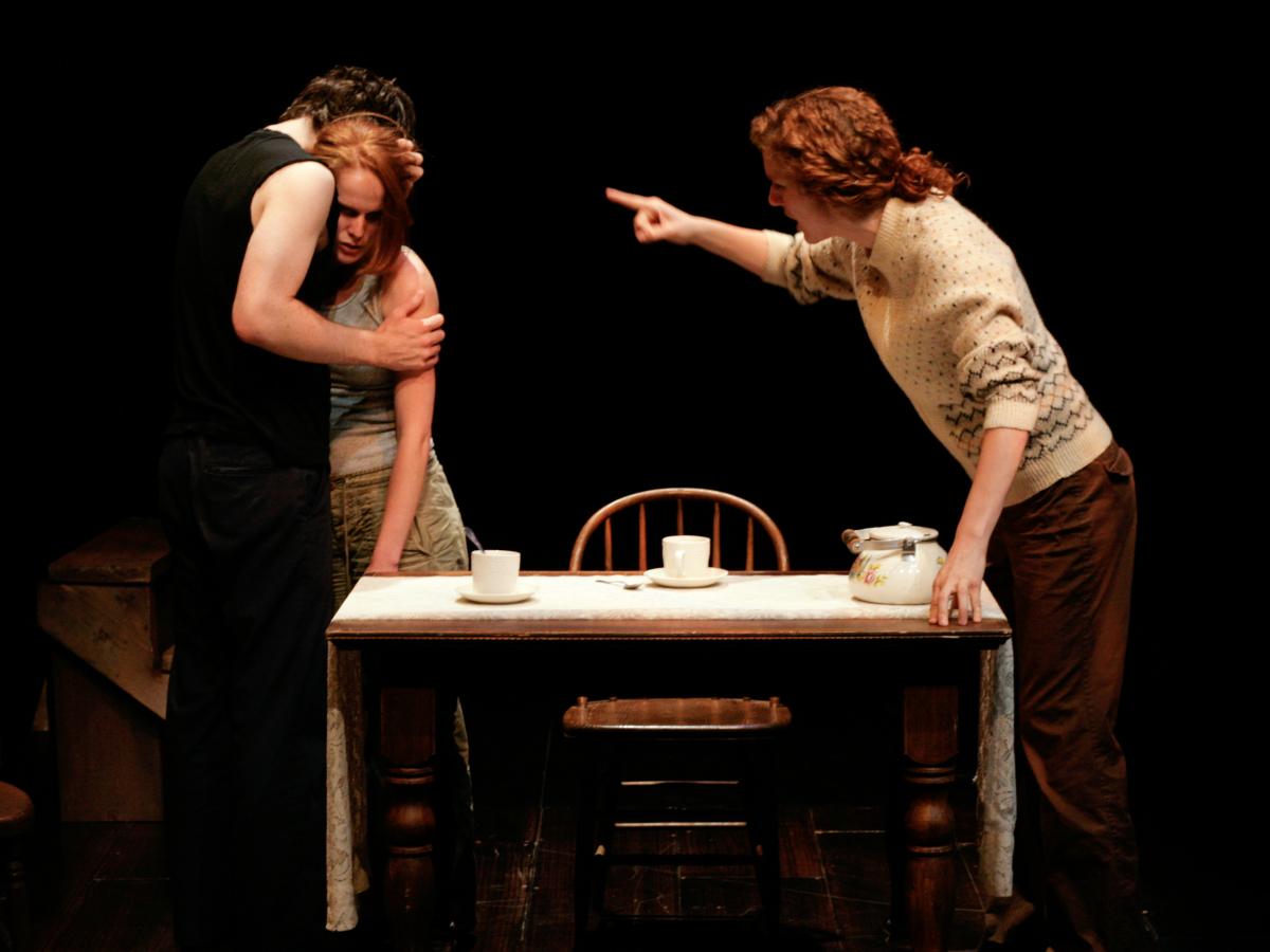 Far Away - By Caryl Churchill * Designed by Grady Barker, Heather Smaha & Wei Wang * Williamstown Theatre Festival, 2008