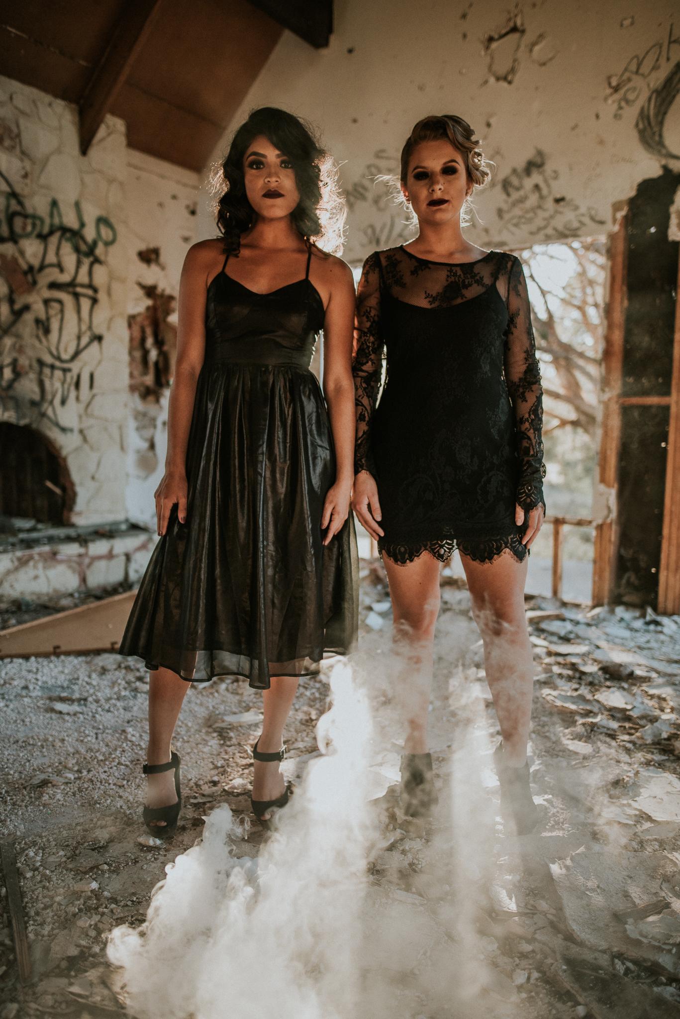 American Horror Story Styled Shoot in Phoenix AZ
