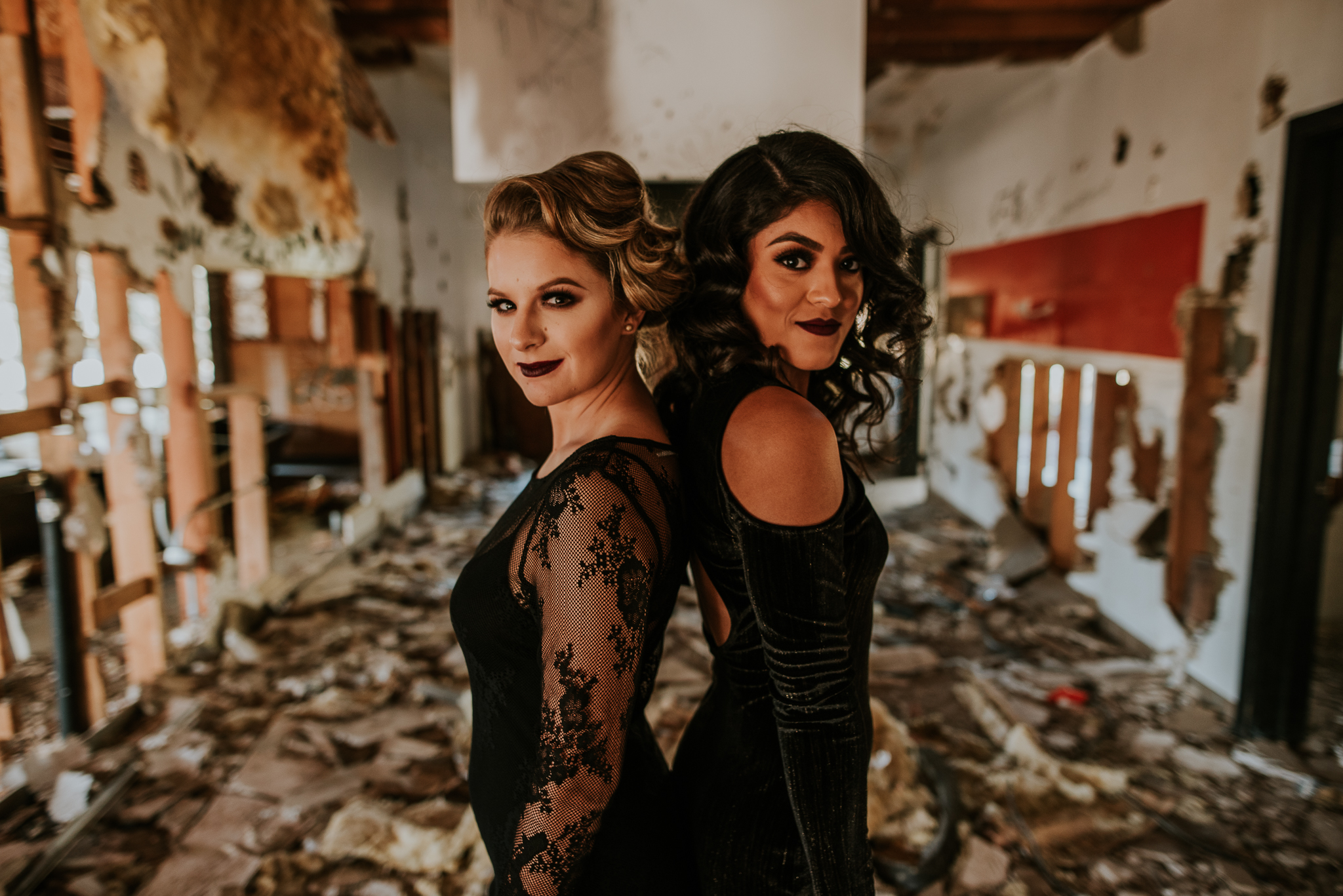American Horror Story Hair and Make up | Chelsey Herrera Photography