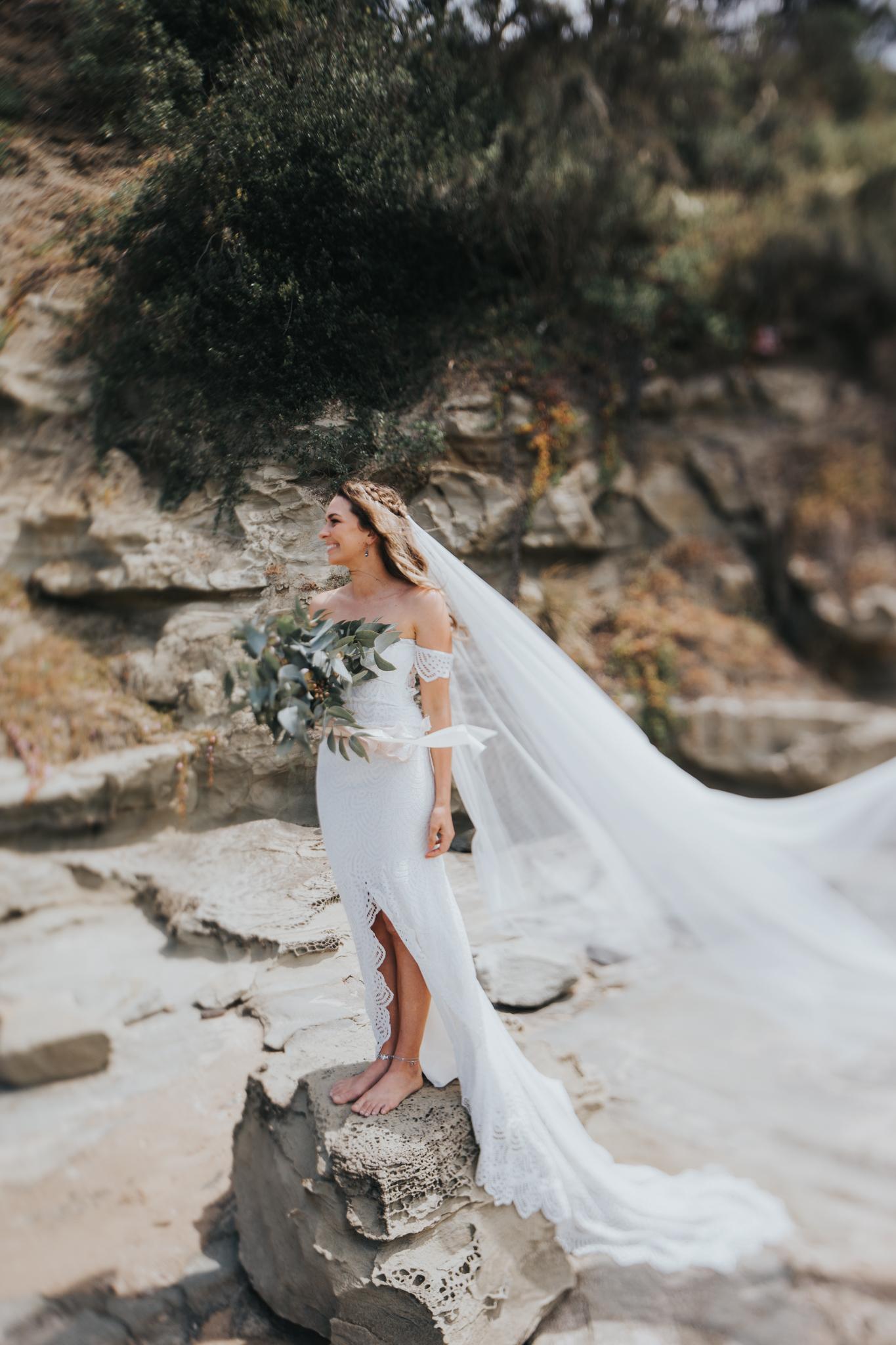Inverloch wedding #graceloveslace #theuniquebride