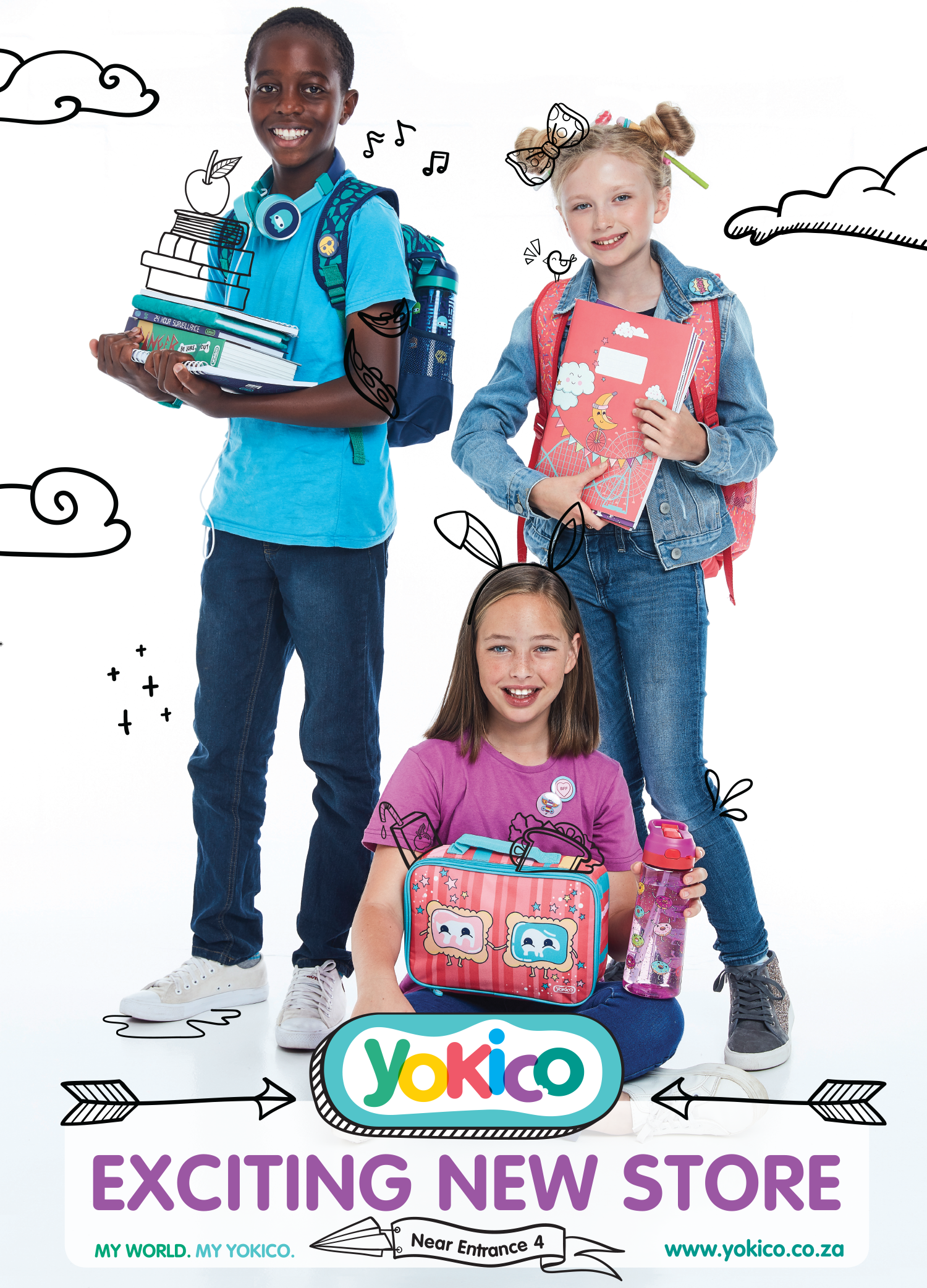 Yokico In Mall Poster