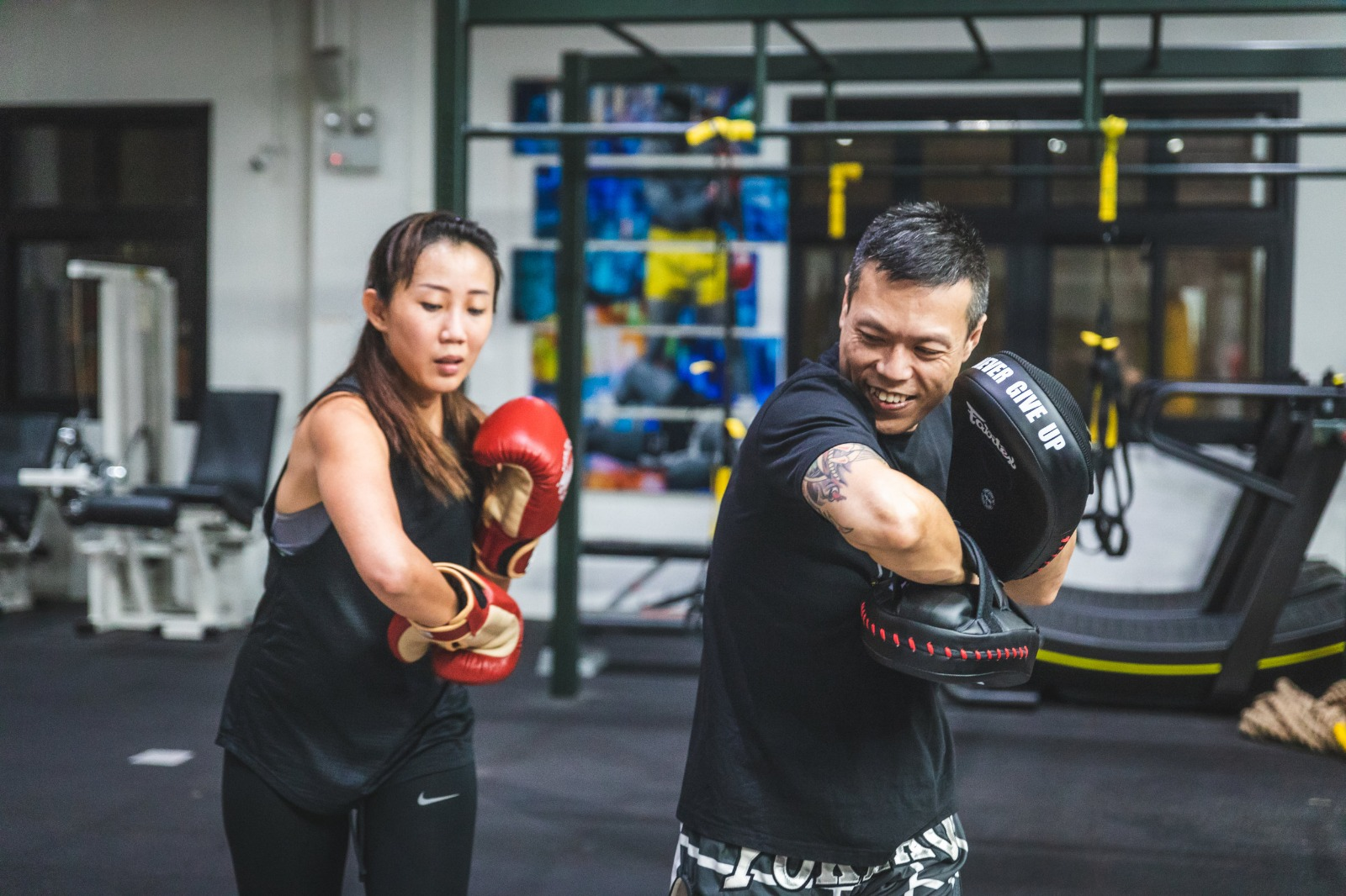 Muay Thai class at The Ring