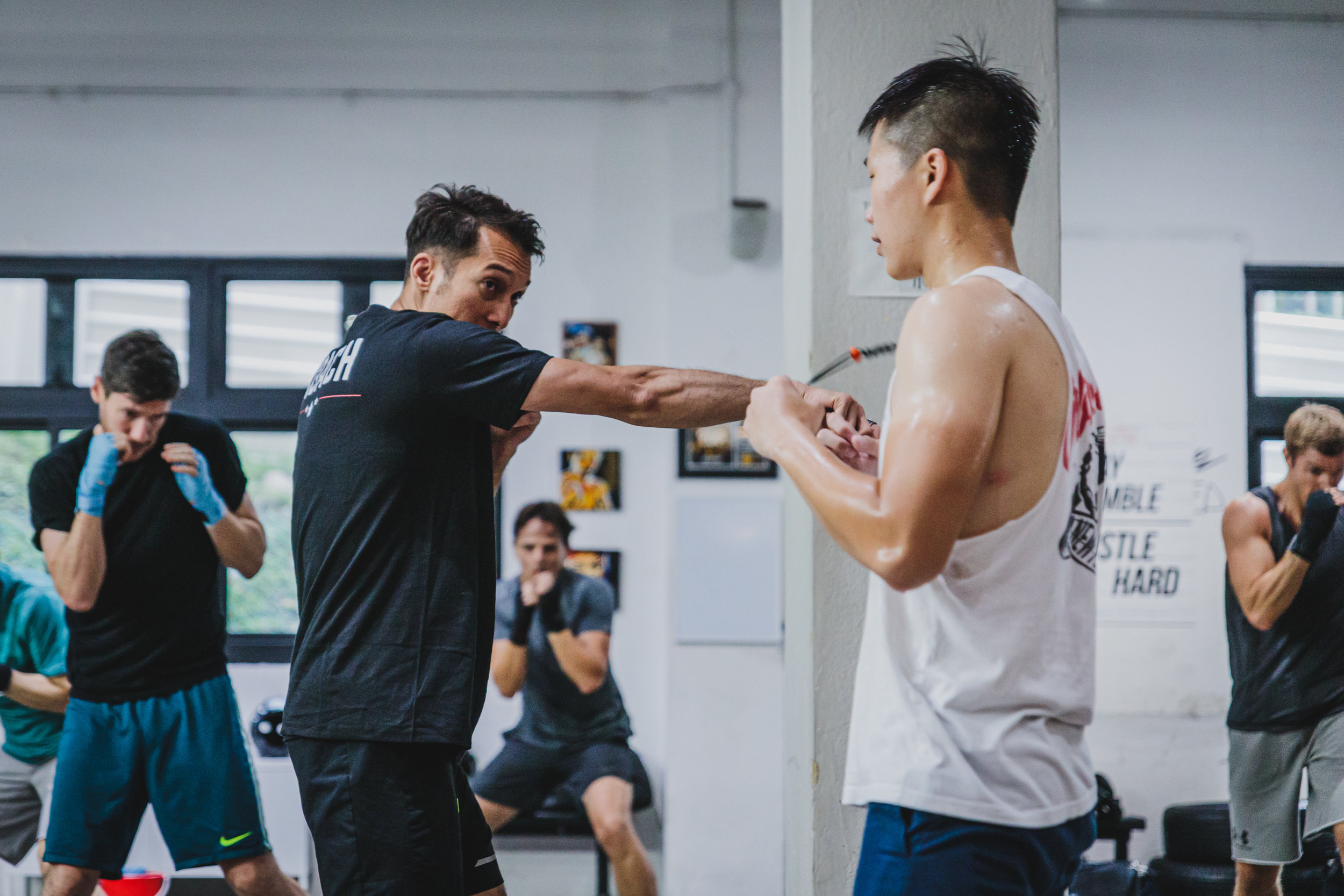 school of boxing - Technical boxing class to understand more about the noble art and the sweet science of boxing. Level up your boxing technical skills, coordination and speed in this class conducted by professional coaches with tons of boxing knowledge.