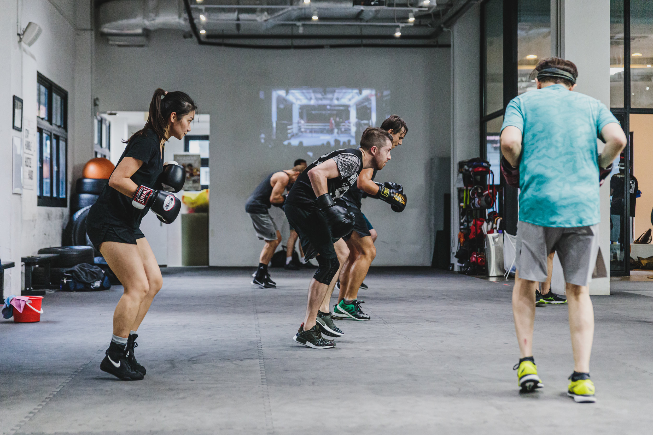 Speed-boxing - If you want a quick workout during your lunch hour, this 45-minute class will be the perfect midday class for you to burn those calories!