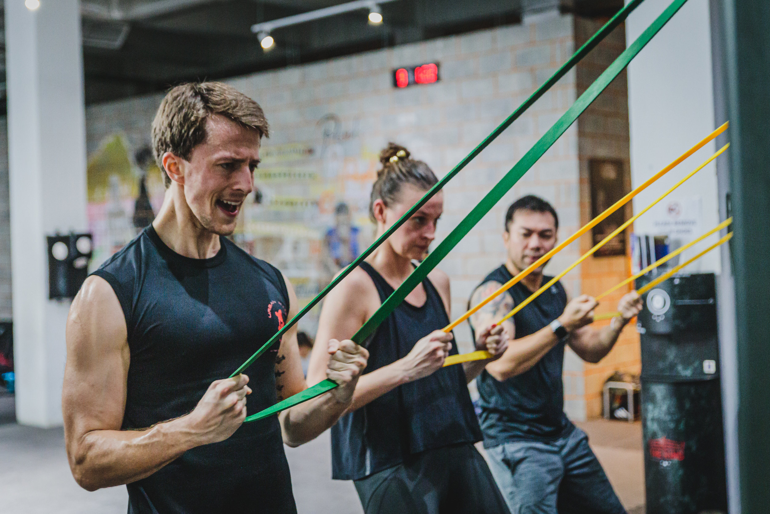 H.e.a.t - This 60-minute High Energy Athletic Training is a full body workout class to improve your cardiovascular strength, muscle endurance, power and functional range through innovative and traditional training methods.