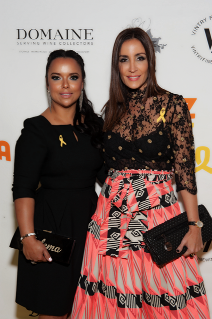 Zulema Arroyo Farley and Stella Nolasco at the 2016 Artz Cure Sarcoma™ Foundation Benefit Auction in New York.