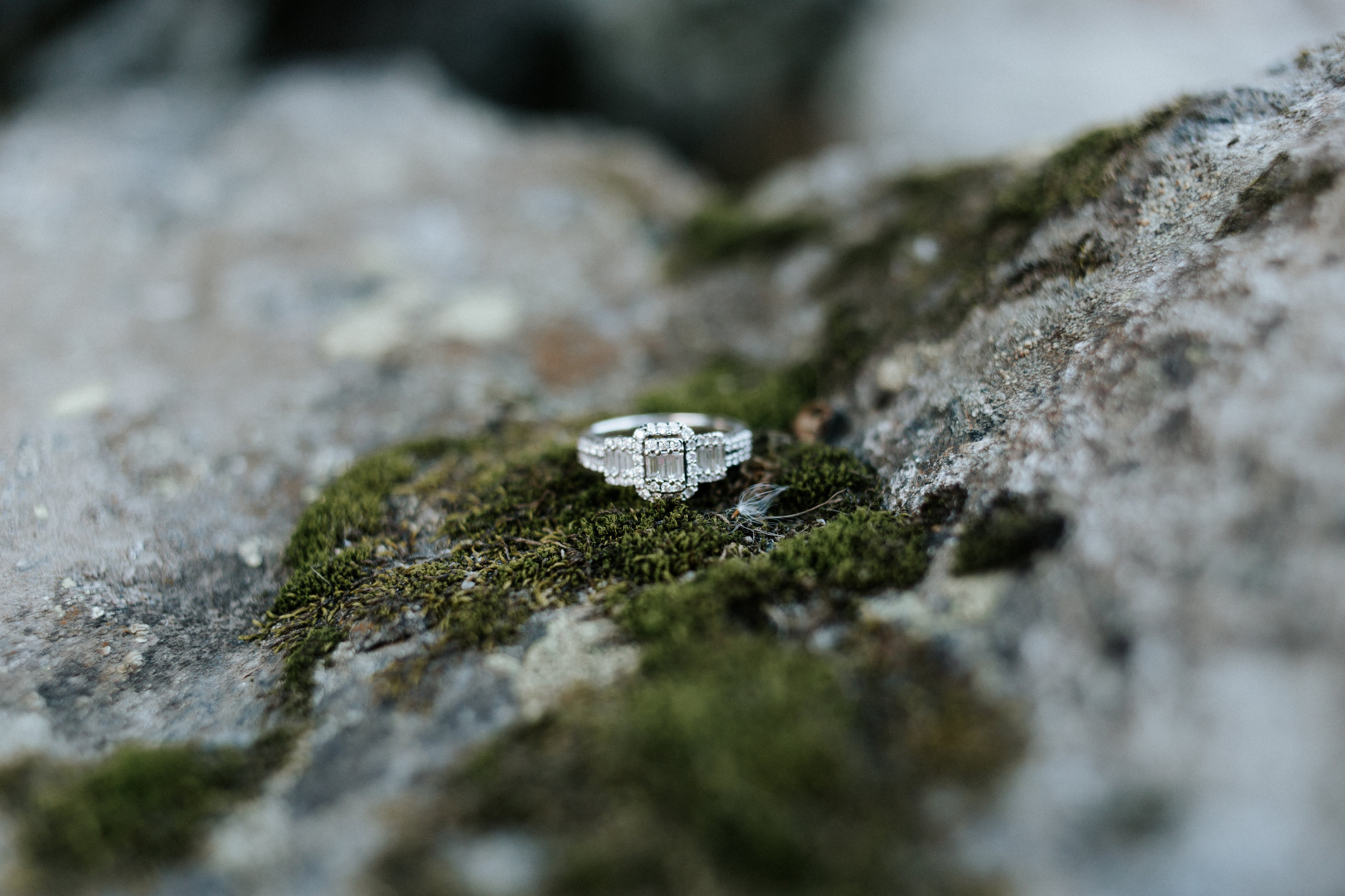 Is it weird to take photos of my own ring? No? Okay.
