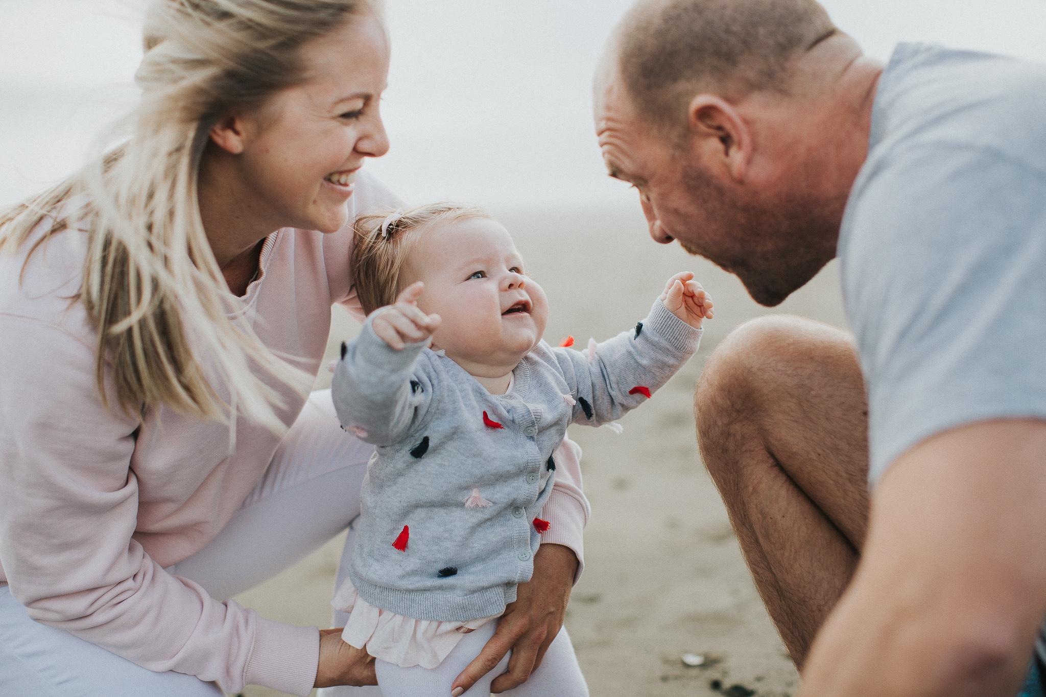 family photographer auckland beach
