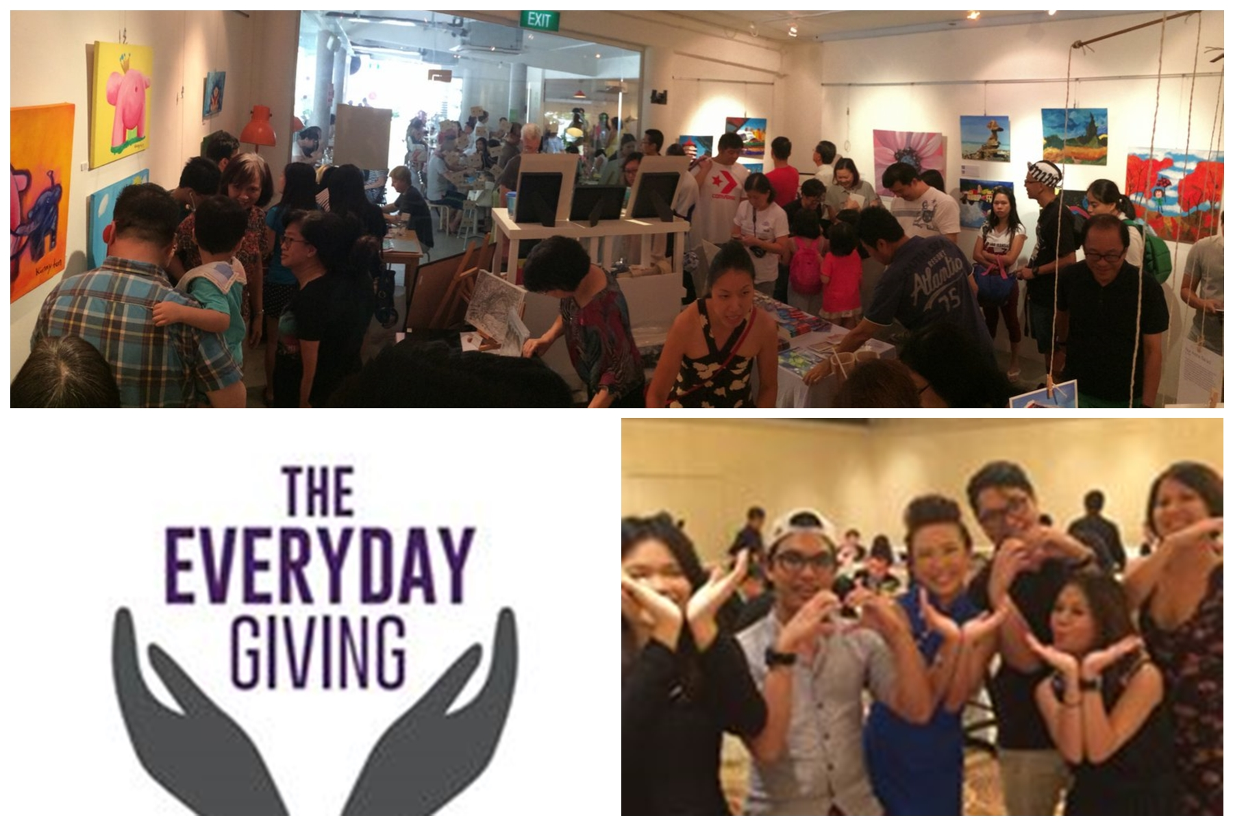 TER @ Giving Back Event - As part of our mission TER wants our special needs that they too can give back to society though their works.We organised and ran events whereby part of the sales proceeds will be donated directly to the charities of the choice of the buyers.