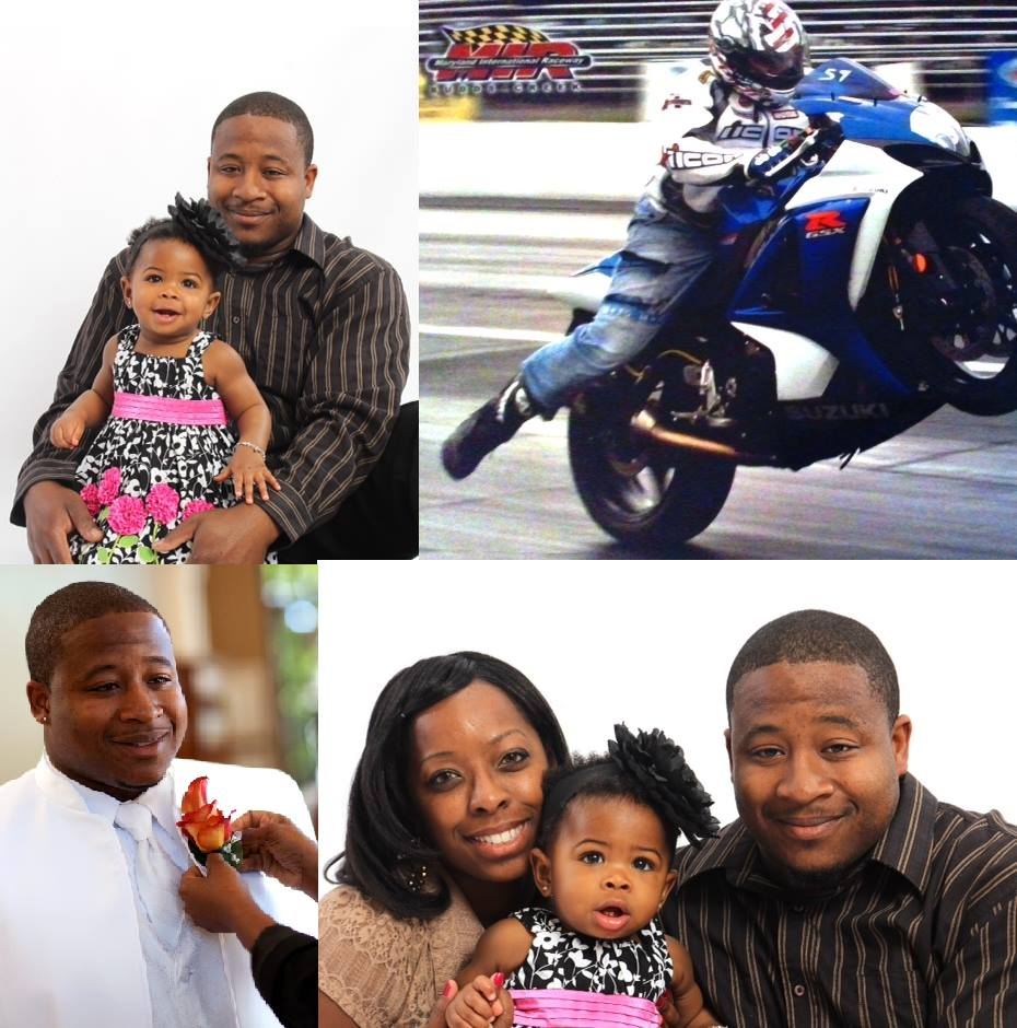 """A'dyn - This beautiful, bright-eyed little lady is A'dyn, or 'Tulip Pot-Pie', as her family calls her. She lost her Daddy in a motorcycle accident. Her Dad, Caleb, sounds a lot like our Justin! Caleb affectionately known as """"Scrappy"""" was a member of the Azphalt Raiderz Motorcycle Club."""