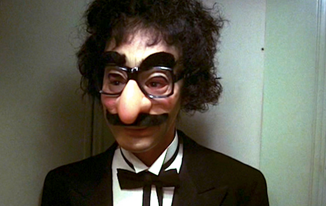 Killer in Groucho Marx Mask