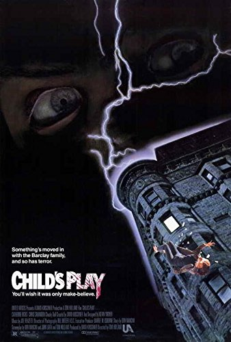 25. Child's Play (1988) - Child's Play is a testament to the power of voice actors. Brad Dourif brings Chucky to life and helps make him one of the best & most insane slasher villains we have come across. The rest of the movie has some flaws in the slasher playbook but we give credit to Child's Play as an incredible prequel to what Chucky will become.