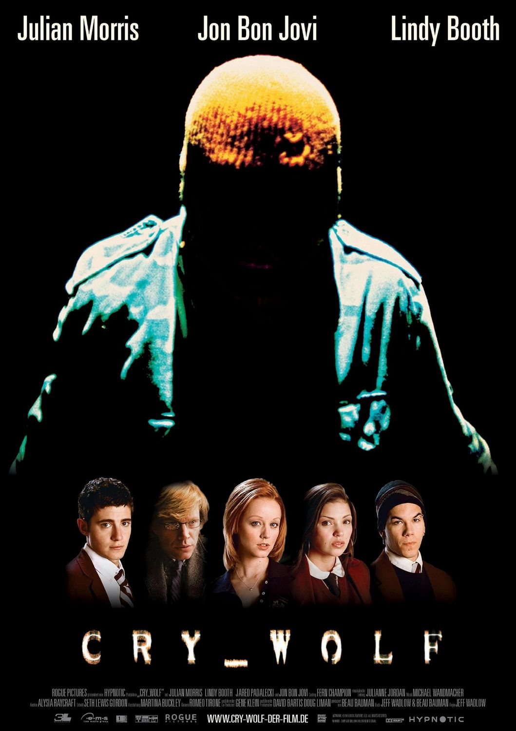 42. Cry Wolf (2005) - Guilty for dating itself by using early internet era gimmicks, Jeff Wadlow's Cry_wolf is still a charming little piece of slasher mind games. Capitalizing on its whodunit approach, it's the end of this early aughts thriller that forces it to the near bottom of our list.
