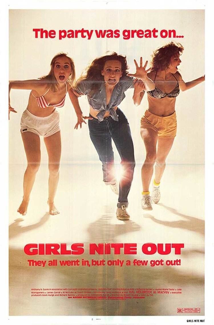 43. Girls Nite Out (1982) - It is hard to find the words for this film besides… it's a movie.