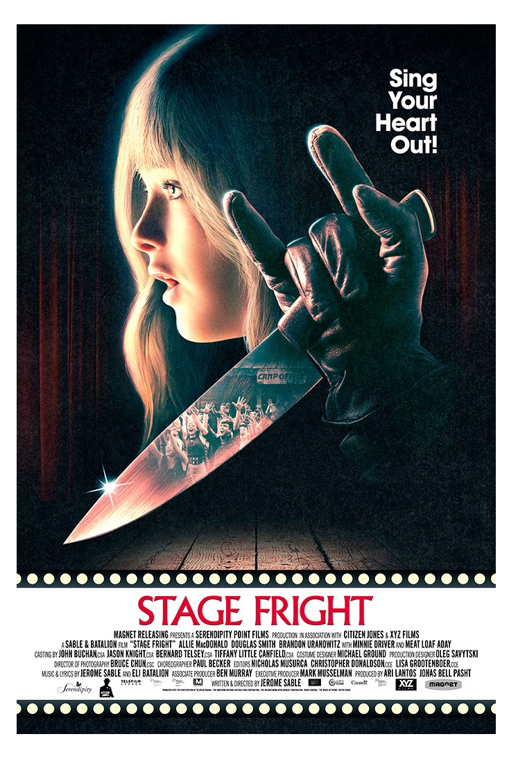 11. Stage Fright (2014) - In this relatively modern slasher, a true love for not just the genre but for musicals and stage plays, coupled along with slick production and some truly fun rock opera ballads make it a classic hidden gem. A bonus cameo from Meat Loaf and a handful of smart homages will make Stage Fright a new favorite and having you begging for more mash ups of the genres.