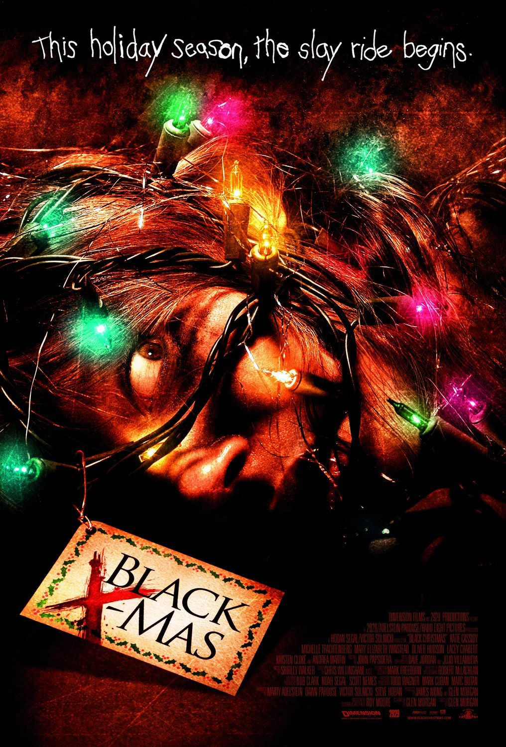16. Black X-Mas (2006) - Glen Morgan's remake of Black Christmas realizes it can't be the original so instead adds a twisted back story and some truly skincrawling plot beats. While it has a few moments of misplaced misogyny from the hands of bad producers, it still manages to be a slick, brutal remake with a mean spirit and some excellent set piece kills.