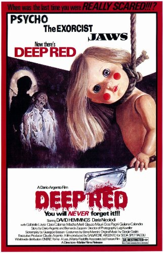26. Deep Red (1975) - Argento creates a layered and complex whodunnit with Deep Red, a movie that is as visceral as it is violent, with plenty of neon blood and stunning close ups to prove it. While technically and visually impressive, it's the fact that only the score and motif are lifted into modern day slasher formulas that holds back the classic giallo from appearing higher on the list.