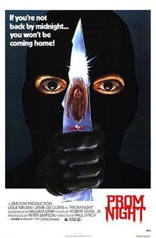 20. Prom Night (1980) - Often looked down on, this Jamie Lee Curtis led slasher is surprisingly great when broken down. A slasher with a strong cast of actors that spends time making you care about the disco dancing teens who eventually get slashed.