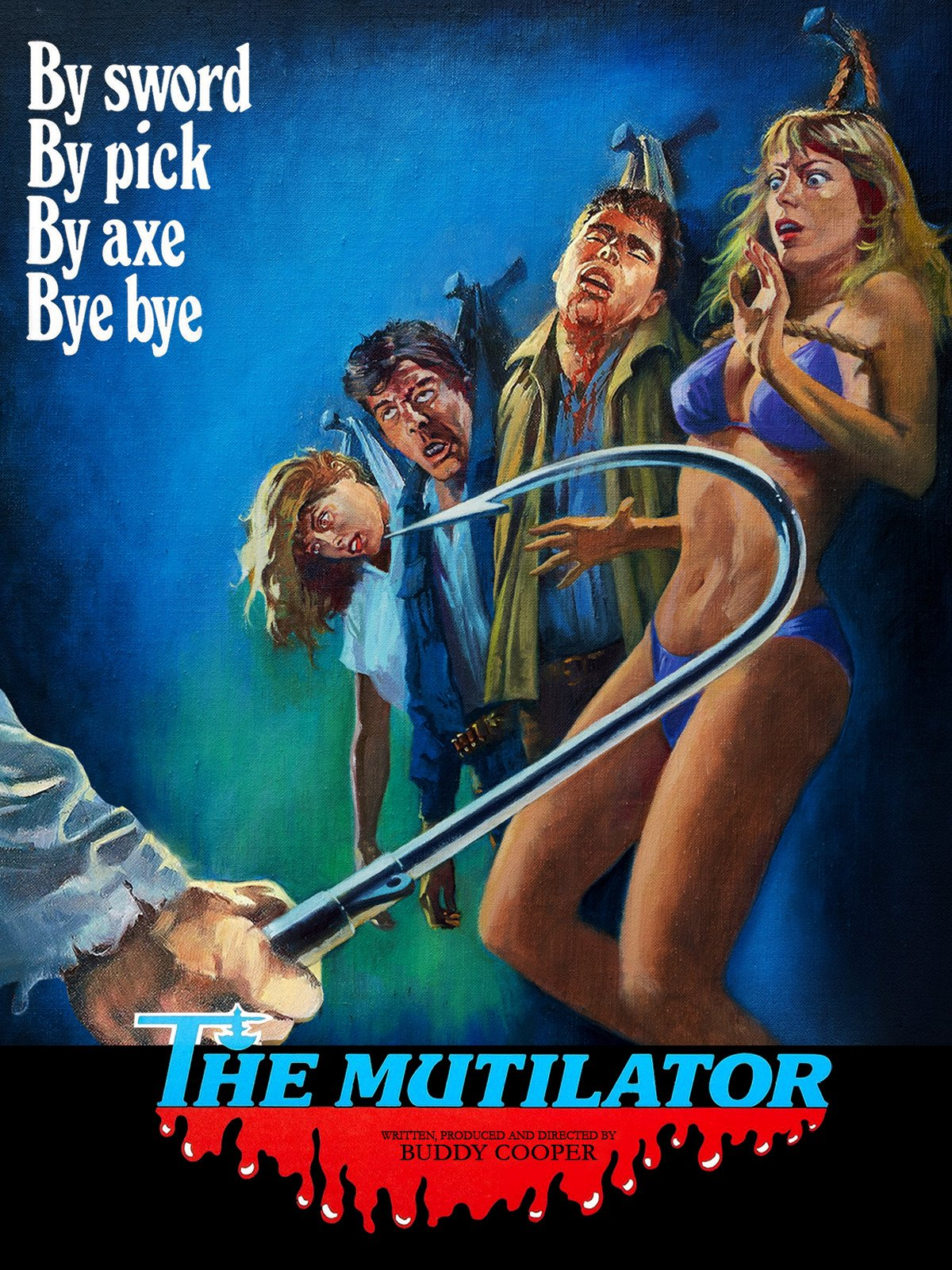 21. The Mutilator - Starts off feeling like a spoof on an 80's TV sitcom, The Mutilator dives into some pretty gory territory. Luckily it's heavy on the killing because you'll be begging this cast of college students to die before it's over.