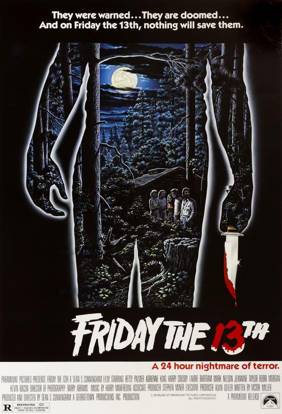 4. Friday the 13th (1980) - A film that jump started the slasher boom of the 80's, Friday the 13th is more than just the origin of a Camp Crystal Lake legend. This film is an effective slasher that gives birth to the well known tropes we love today.