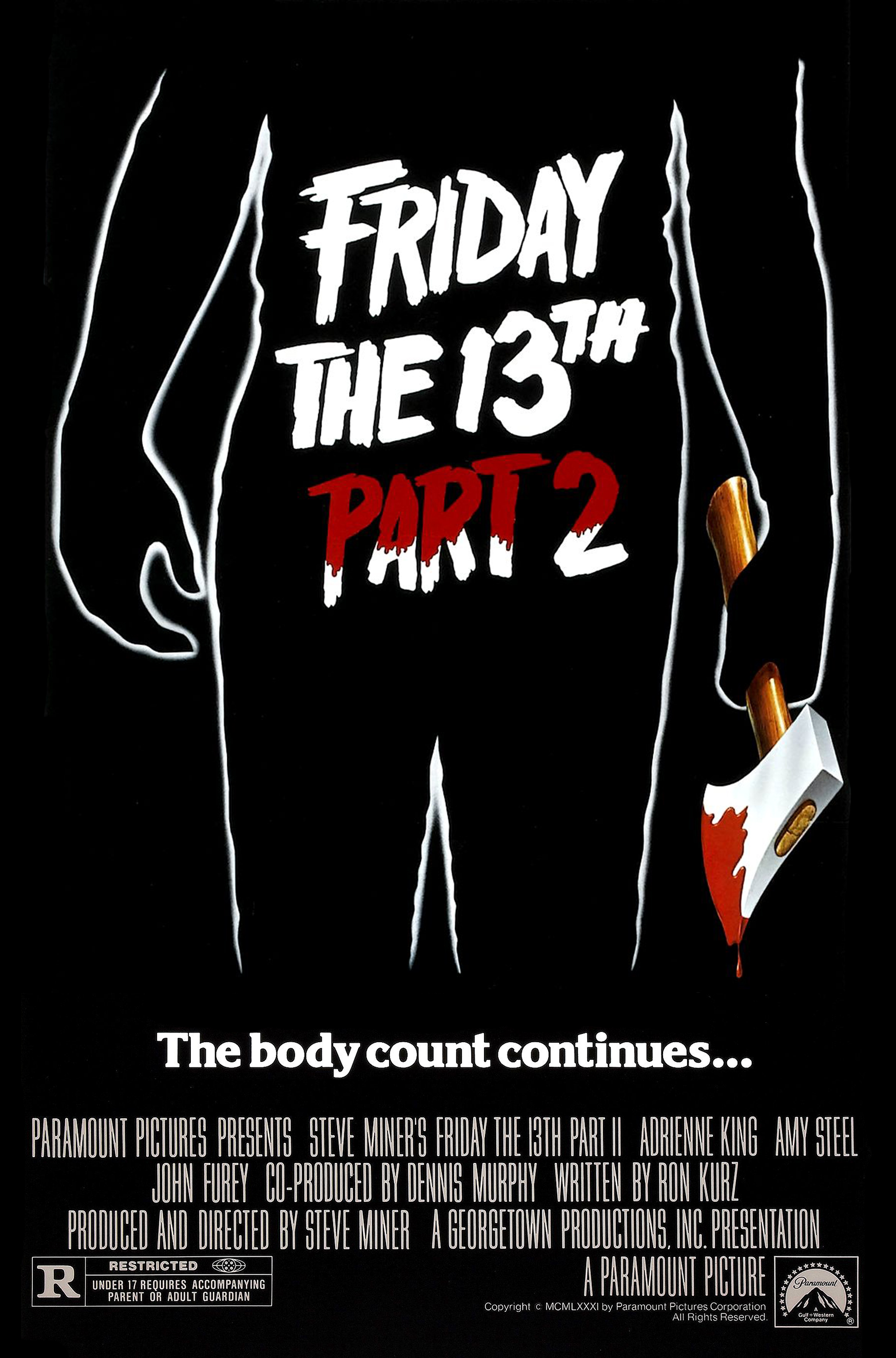3. Friday the 13th Part 2 (1980) -