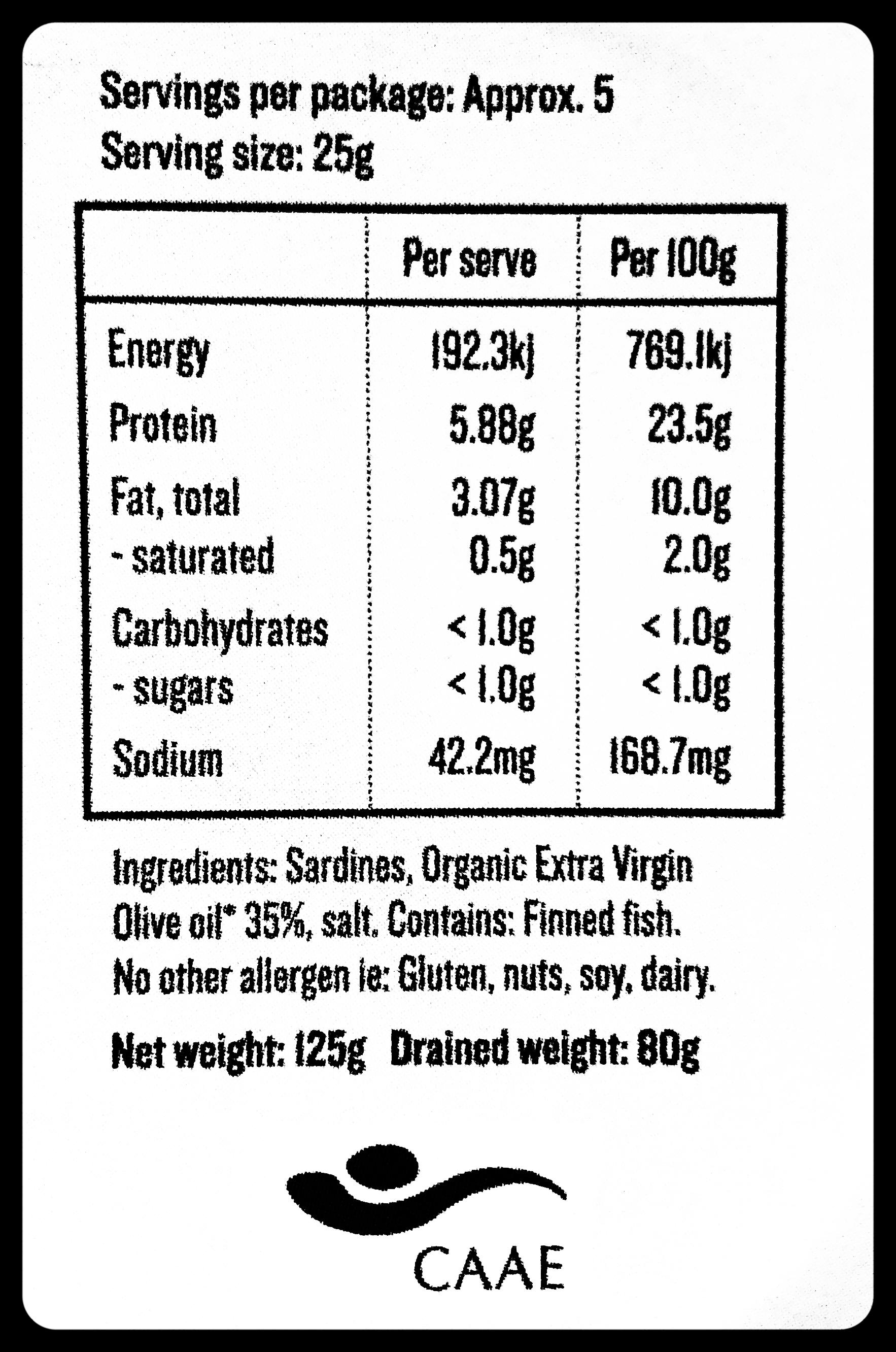 Good Fish Sardines in Extra Virgin Olive Oil