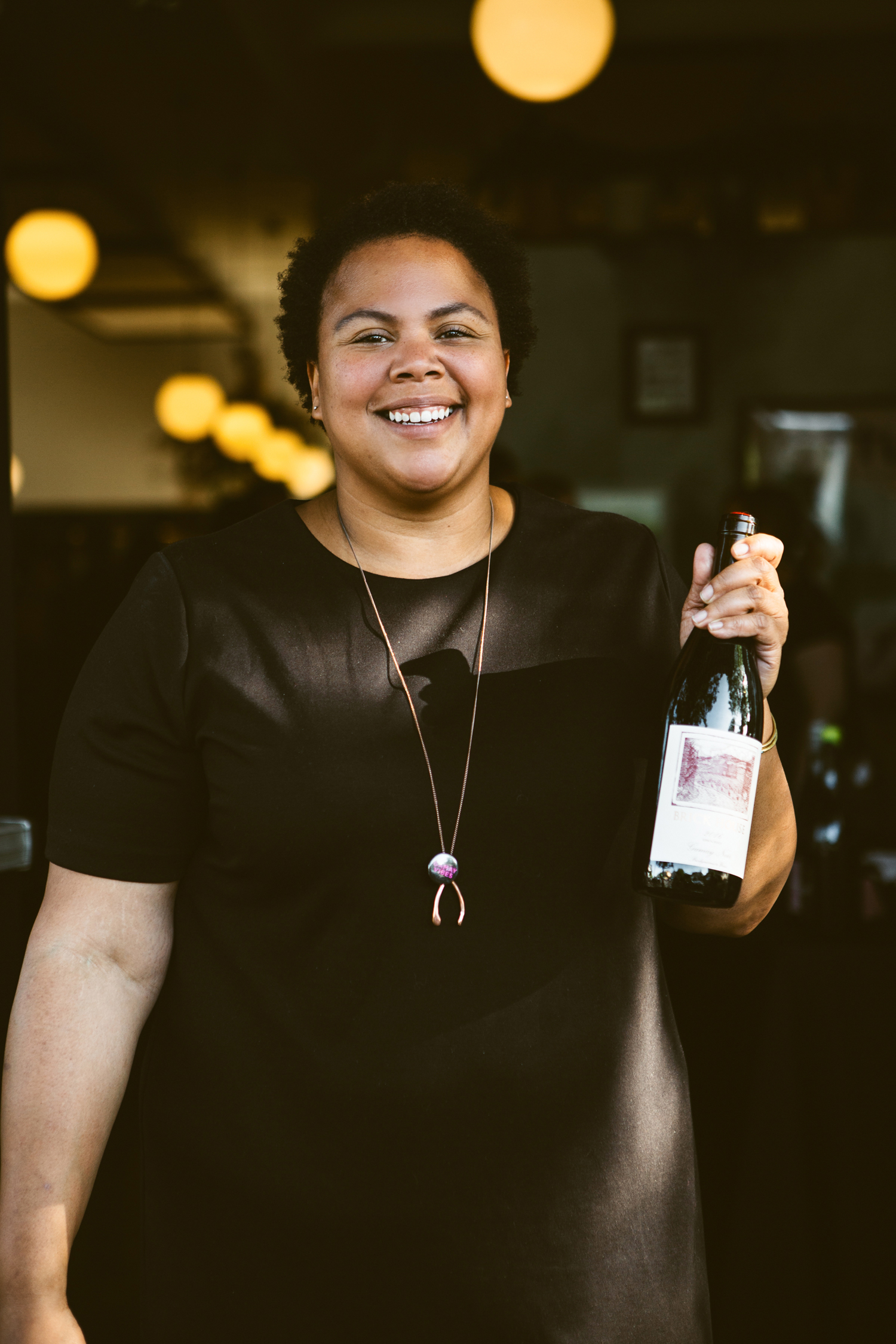 I love Gamay Festival 2018 with a bottle of Brick House Gamay. Photo: Cheryl Juetten