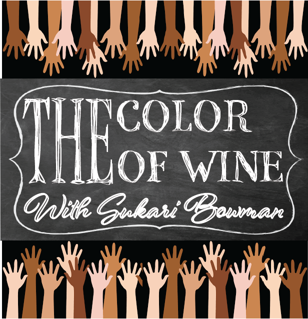 """The Color of Wine is a podcast that puts the spotlight on people of color in the wine industry."" Image courtesy of loveandvines.com"