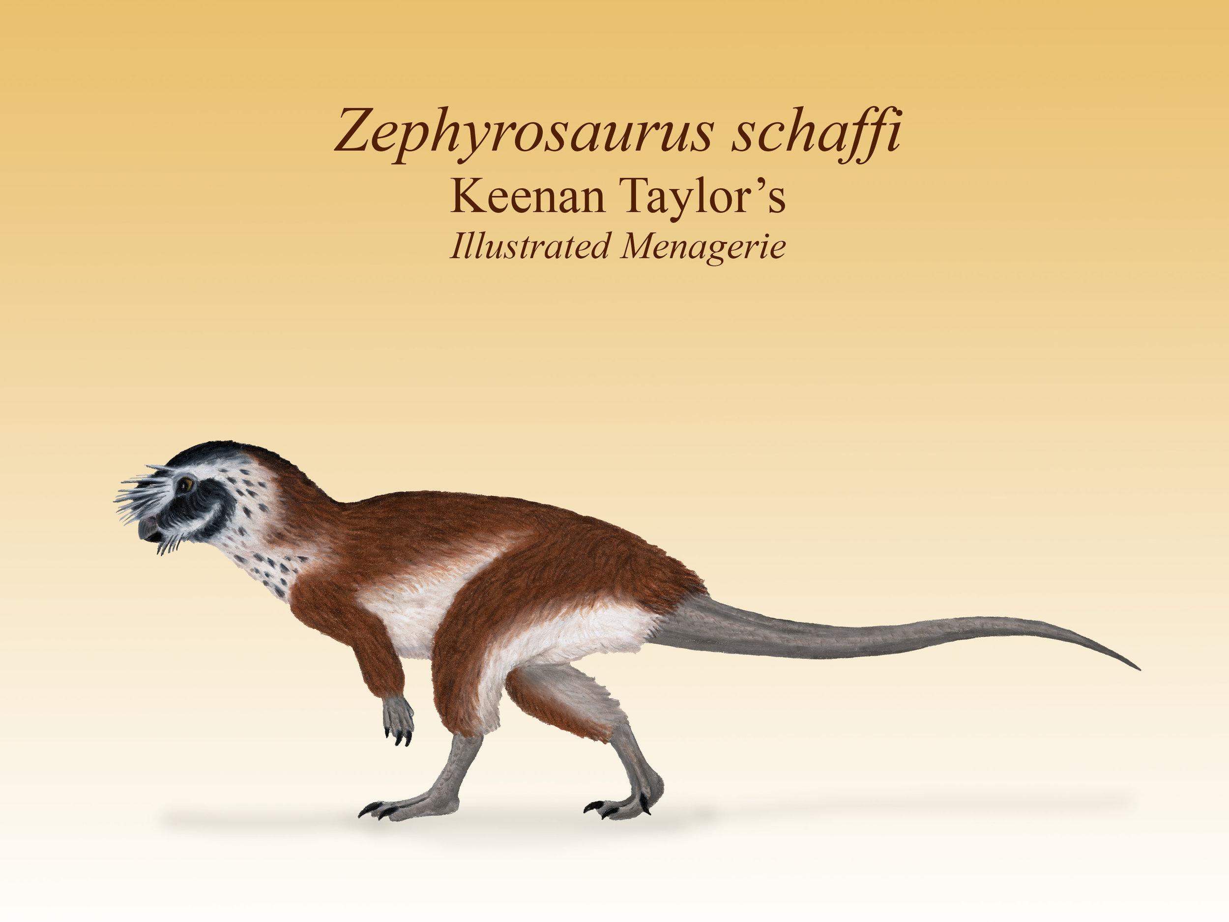 Zephyrosaurus lateral