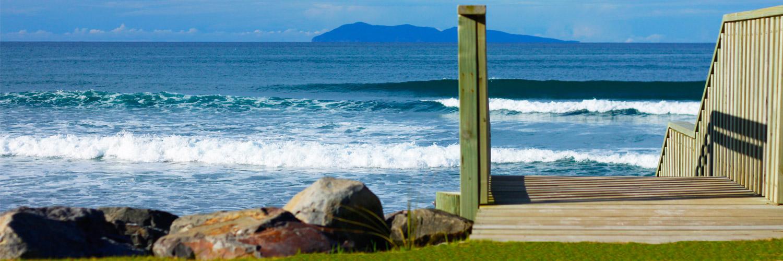 Neuseeland-Stand-Welle-Austausch